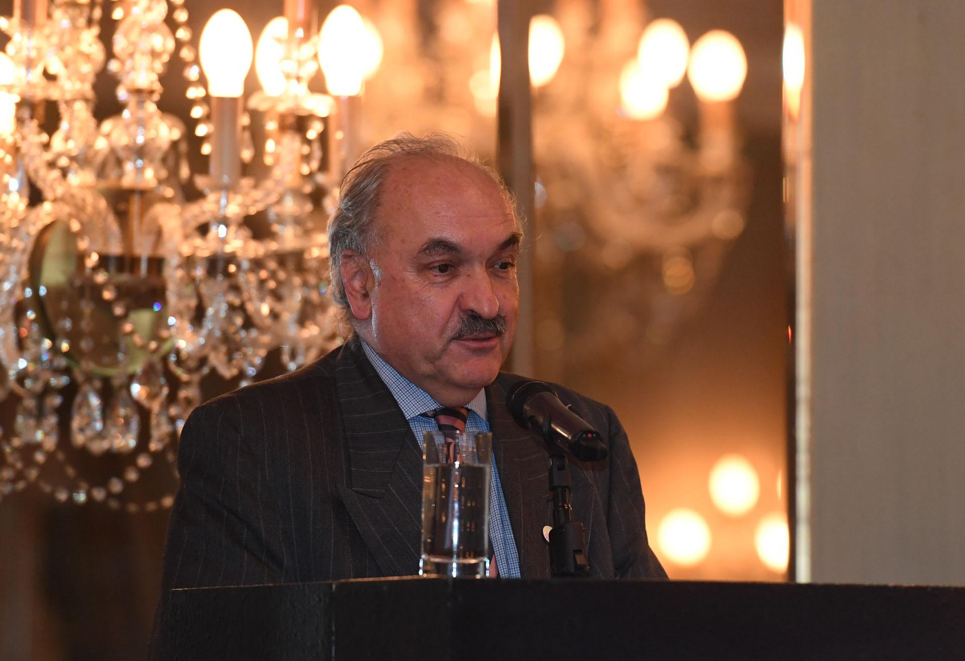 Pedro Villagra Delgado, sherpa del G20, dio la bienvenida a las delegaciones extranjeras que participaron del T20. (Maximiliano Luna)