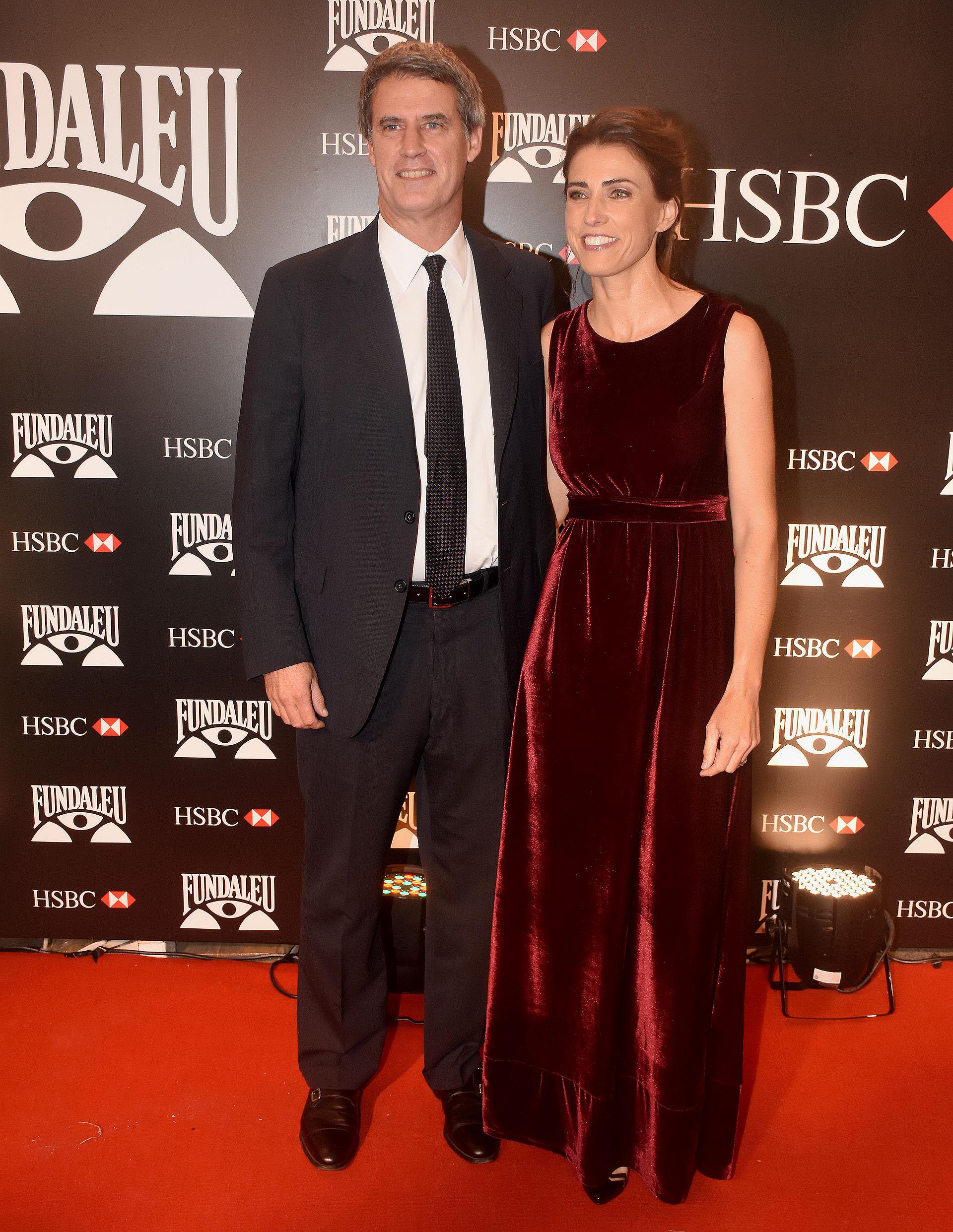 Alfonso Prat-Gay y su pareja Delfina Rodríguez Beccar