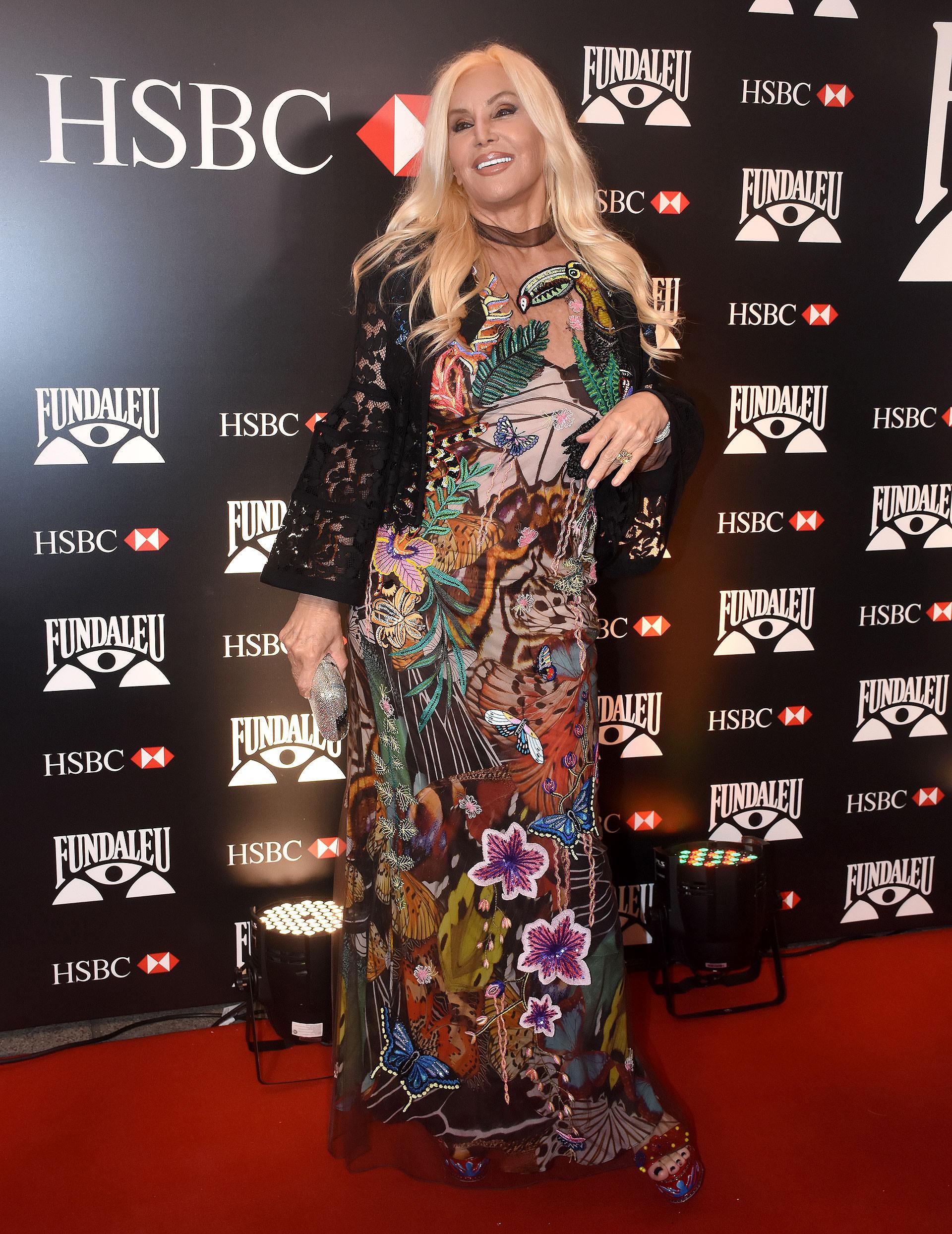 Susana Giménez en la gala de Fundaleu , que en esta nueva edición marcó otro record en solidaridad, alcanzando una recaudación de $6.550.000