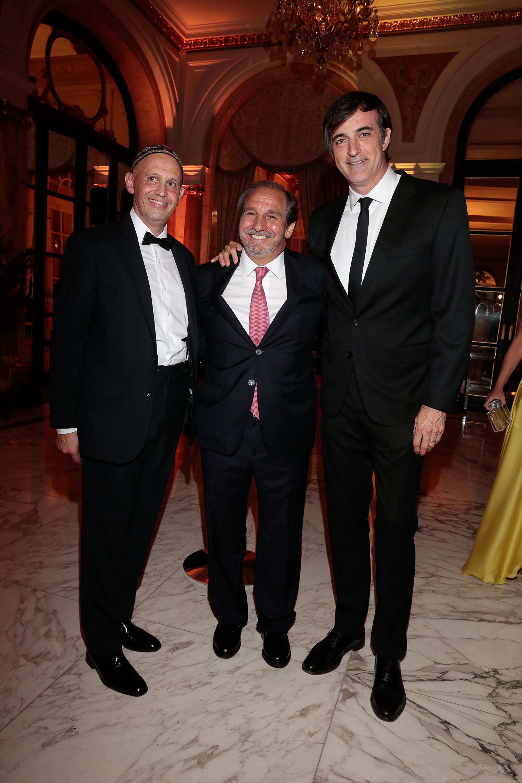 Sergio Bergman, Nicolás Caputo y Esteban Bullrich