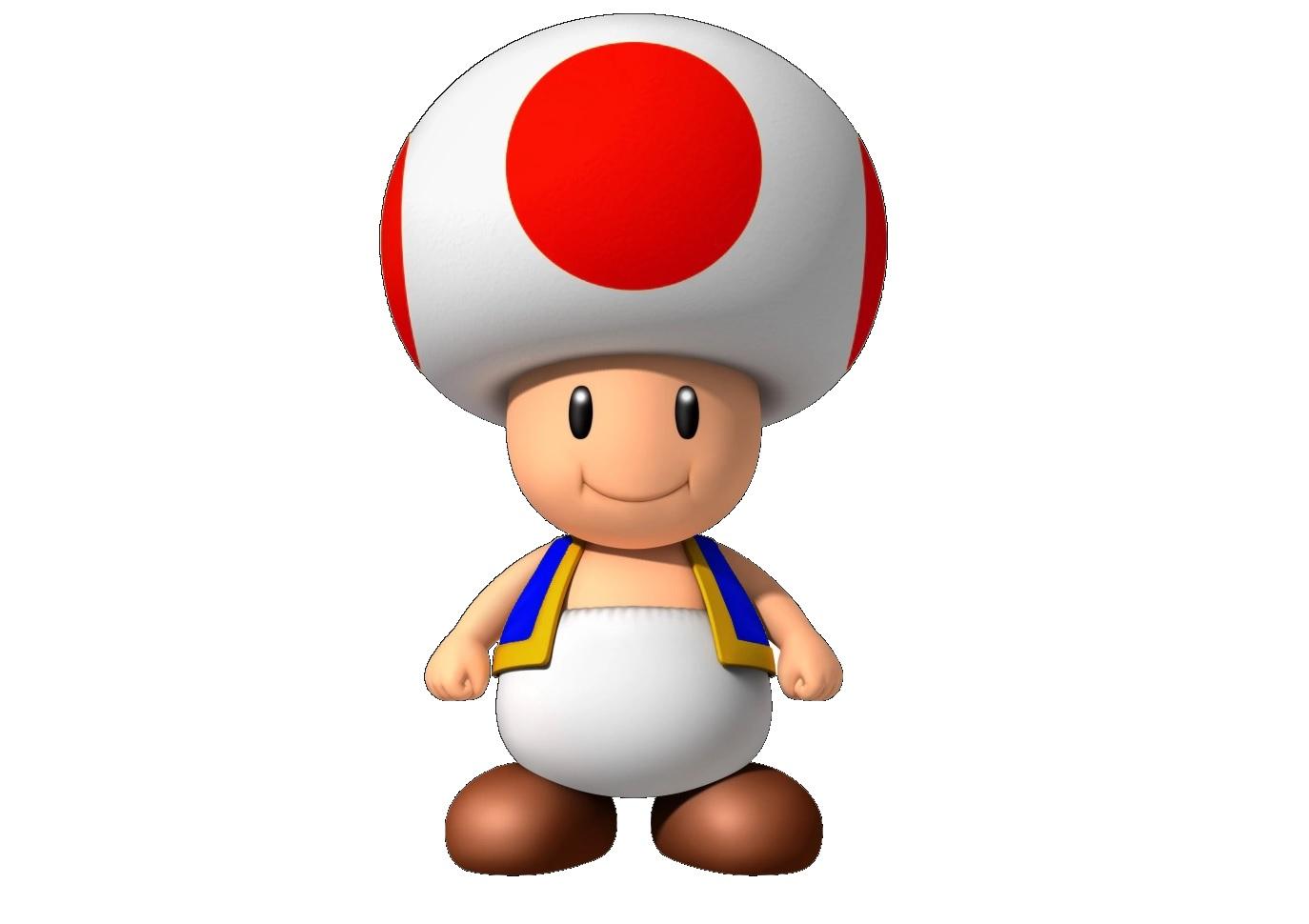 """""""Toad"""", el personaje que usó Daniels para la comparación"""