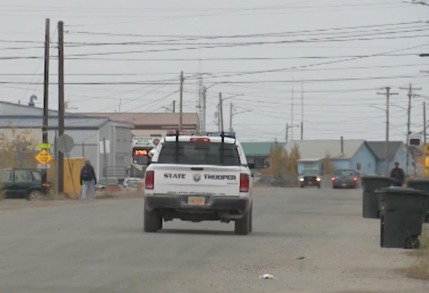Kotzebue es un poblado de poco más de 3.000 habitantes en el norte de Alaska