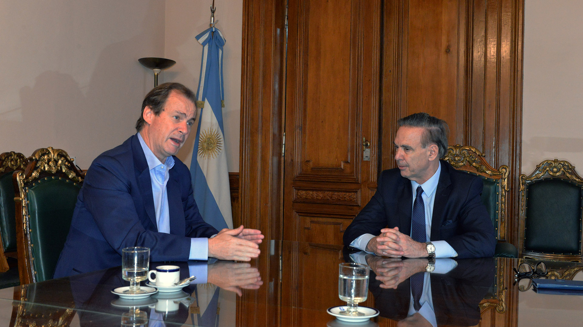 Gustavo Bordet y Miguel PIchetto, dos peronistas con divergencias sobre el frente electoral del PJ