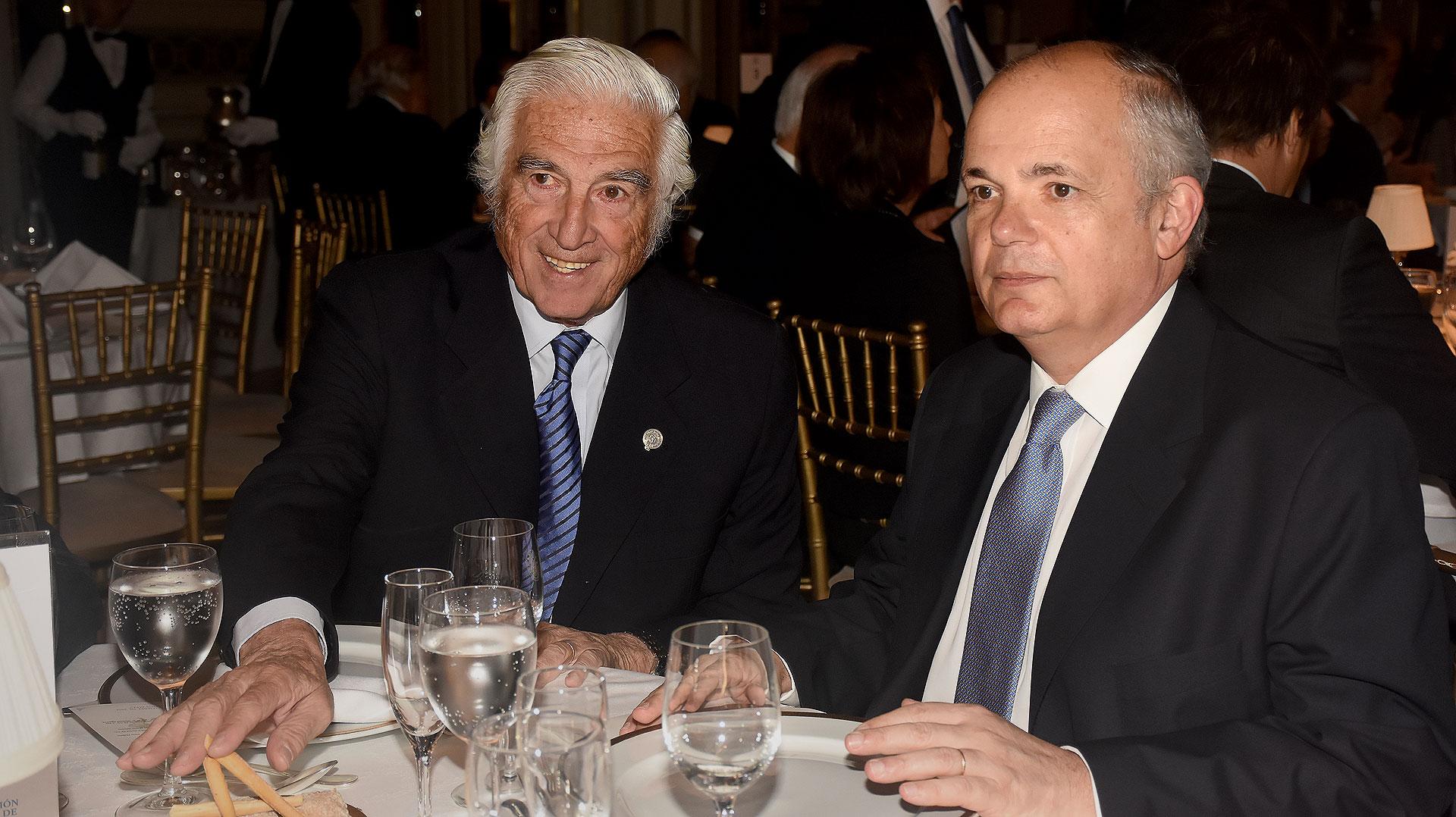 Luciano Miguens y Alejandro Fargosi