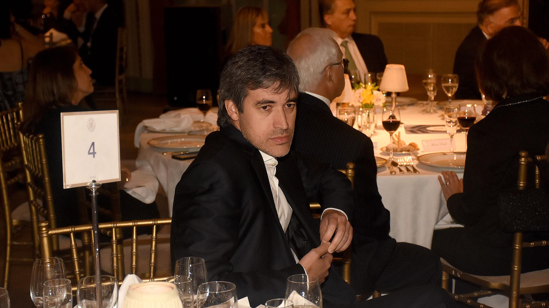El secretario de Asuntos Políticos e Institucionales del ministerio del Interior, Adrián Pérez