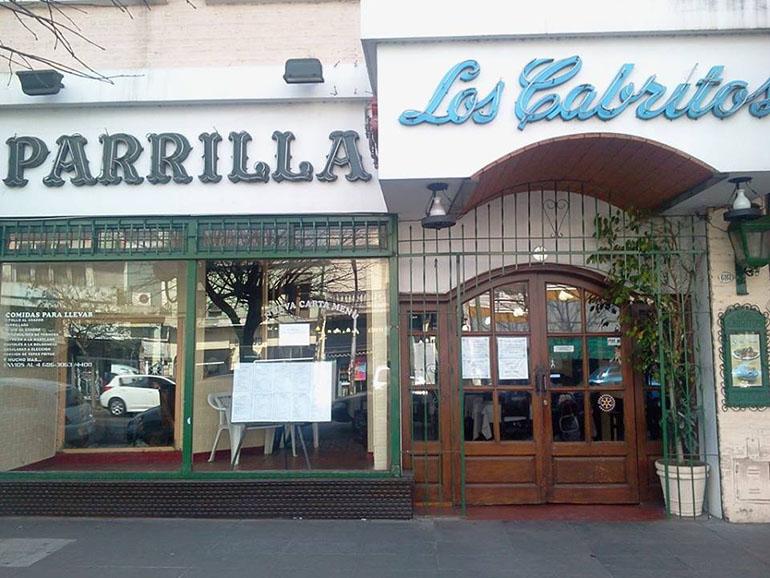La parrilla barrial Los cabritos, que es otra cooperativa de trabajo y está en Juan Bautista Alberdi 6159, ocupó el puesto 9.