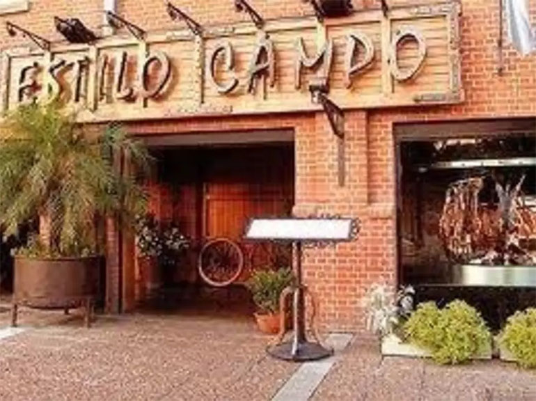 Parrilla Estilo Campo, un clásico de Puerto Madero.