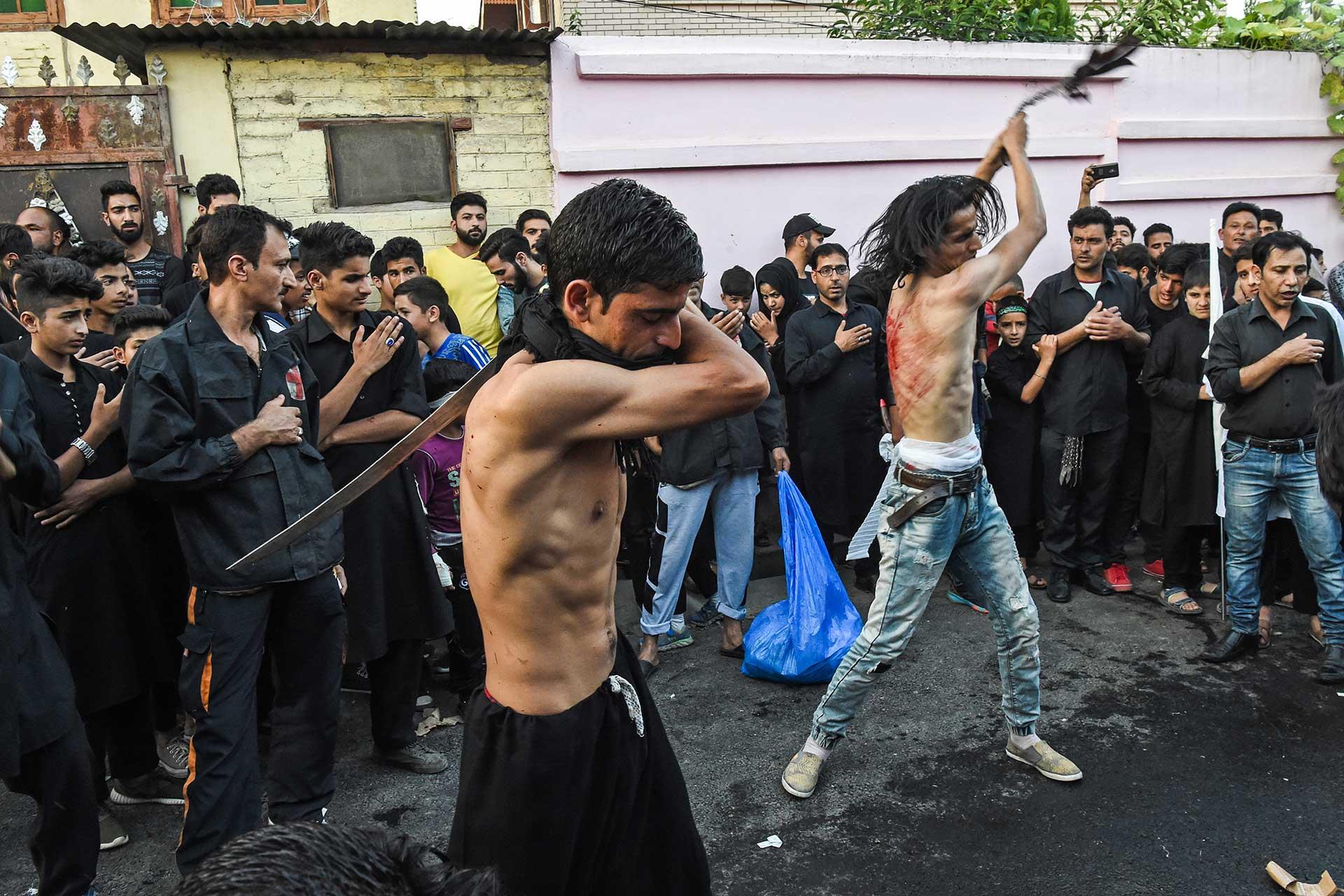 La ceremonia es una de las más importantes de la tradición islámica chiita (AFP)