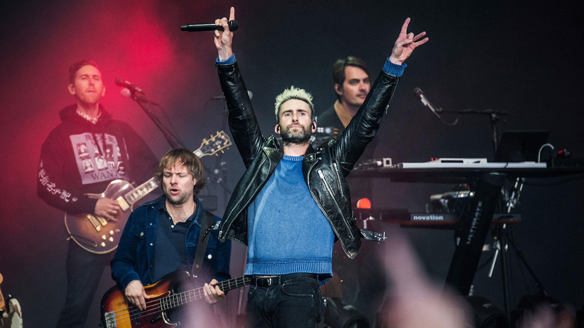 Maroon 5 animarán el espectáculo