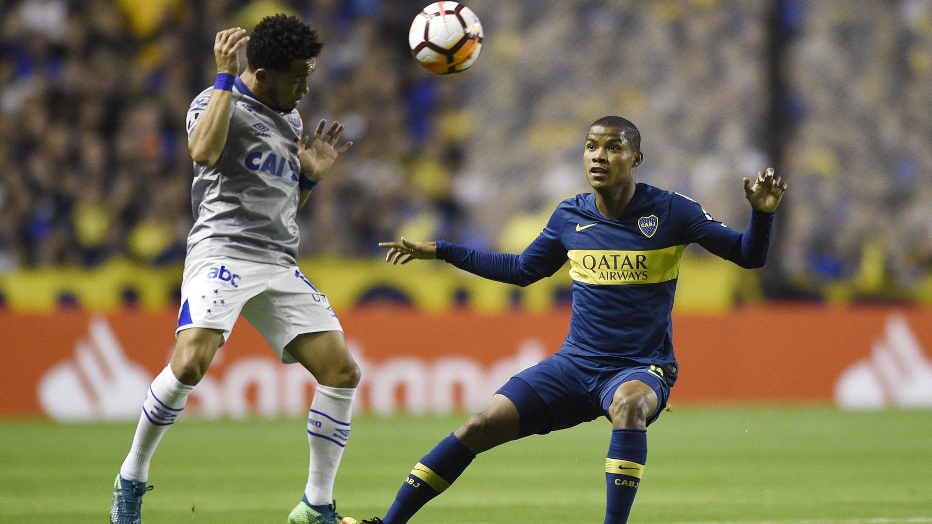 Wilmar Barrioses el encargado de dar equilibrio a Boca Juniors (AP)