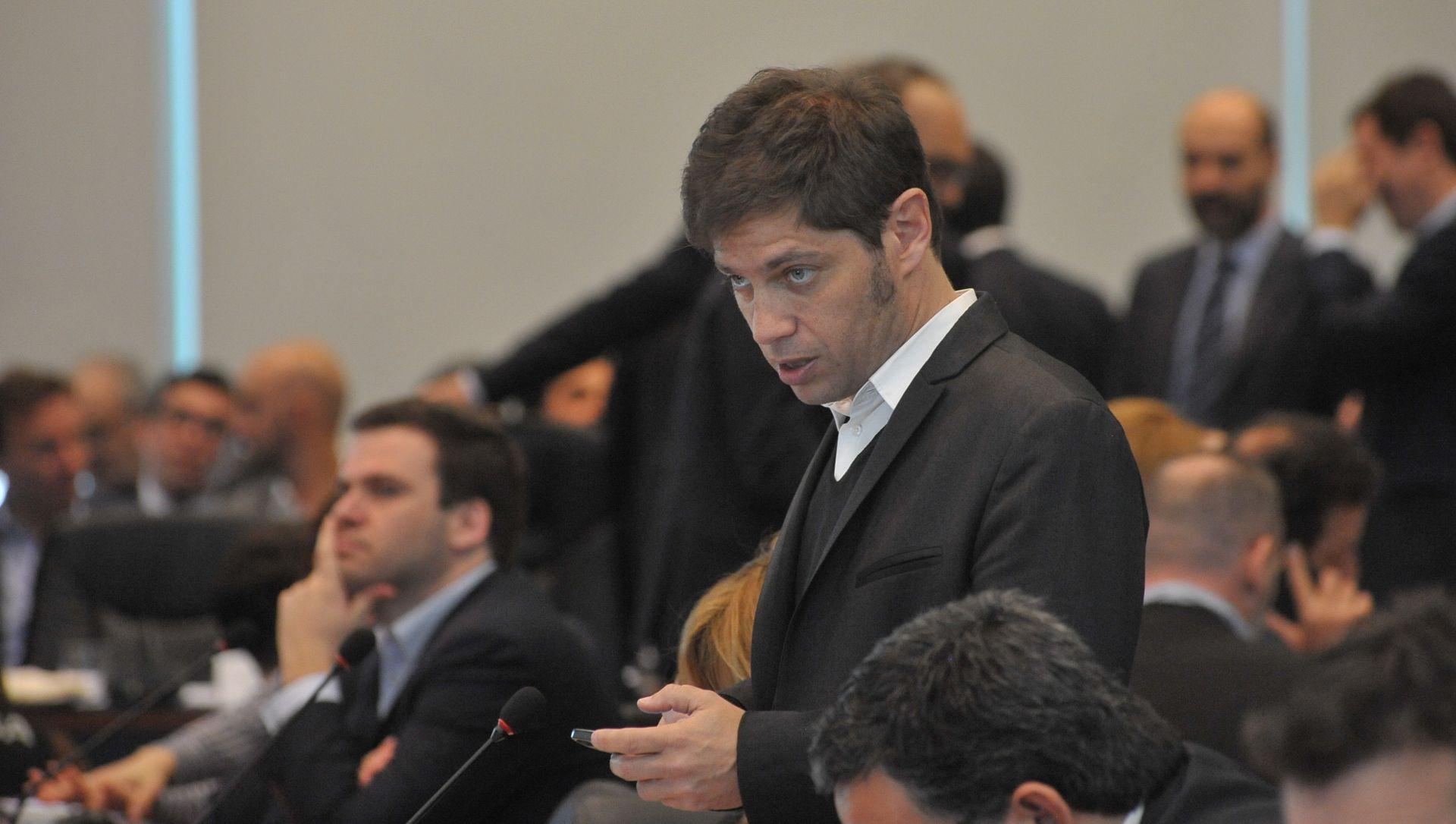 Axel Kiccilof, el candidato de Cristina Kirchner para la provincia de Buenos Aires (Patricio Murphy)