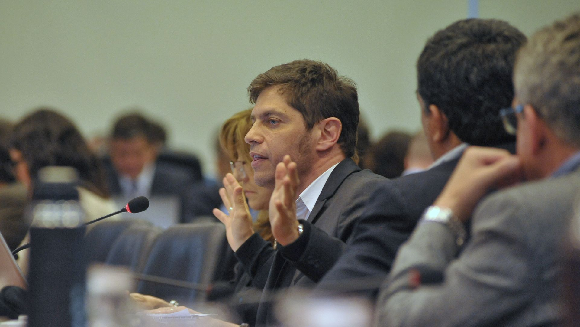 Axel Kicillof está apuntado como candidato en la provincia de Buenos Aires (Patricio Murphy)