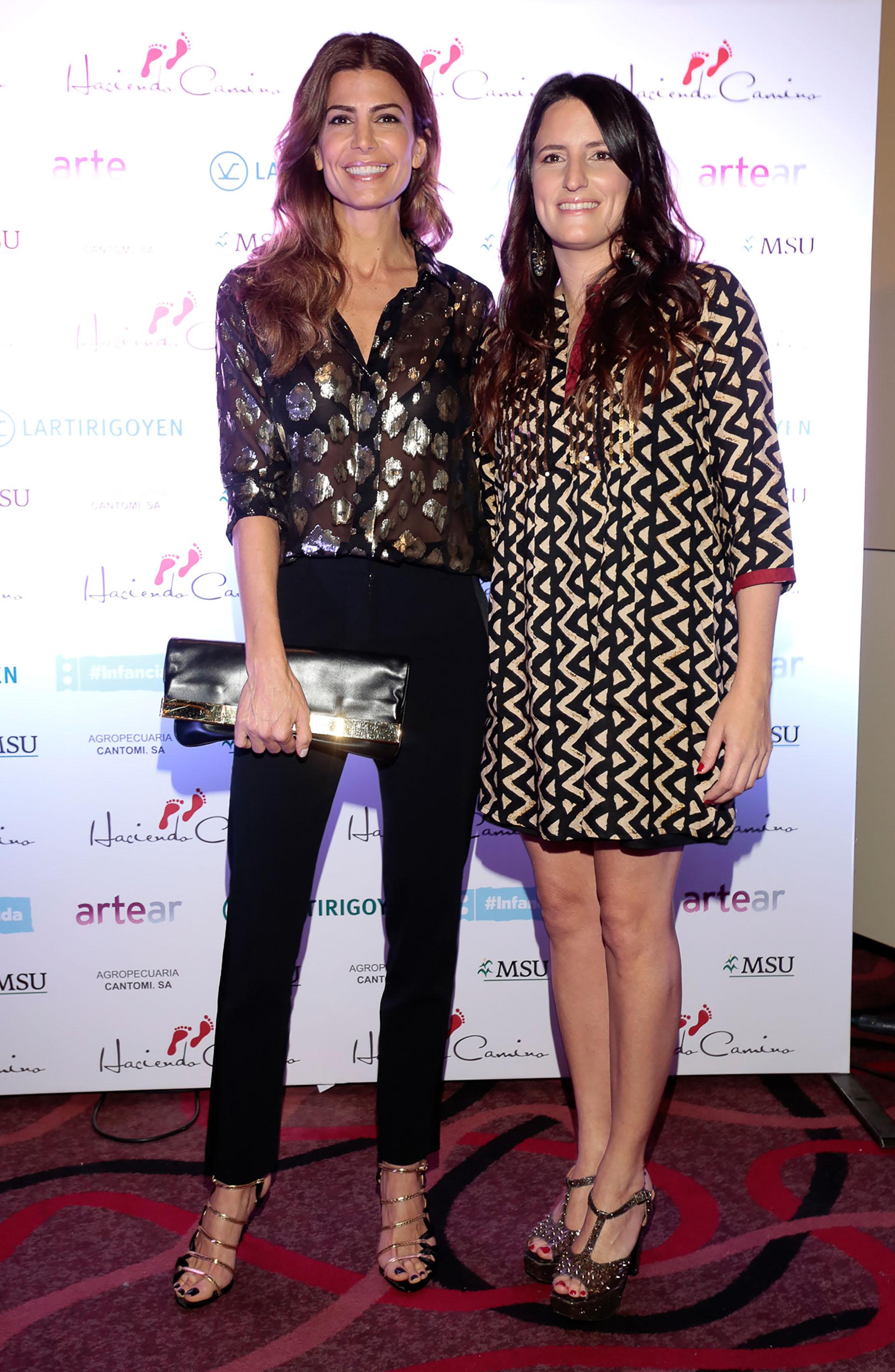 Juliana Awada y Catalina Hornos