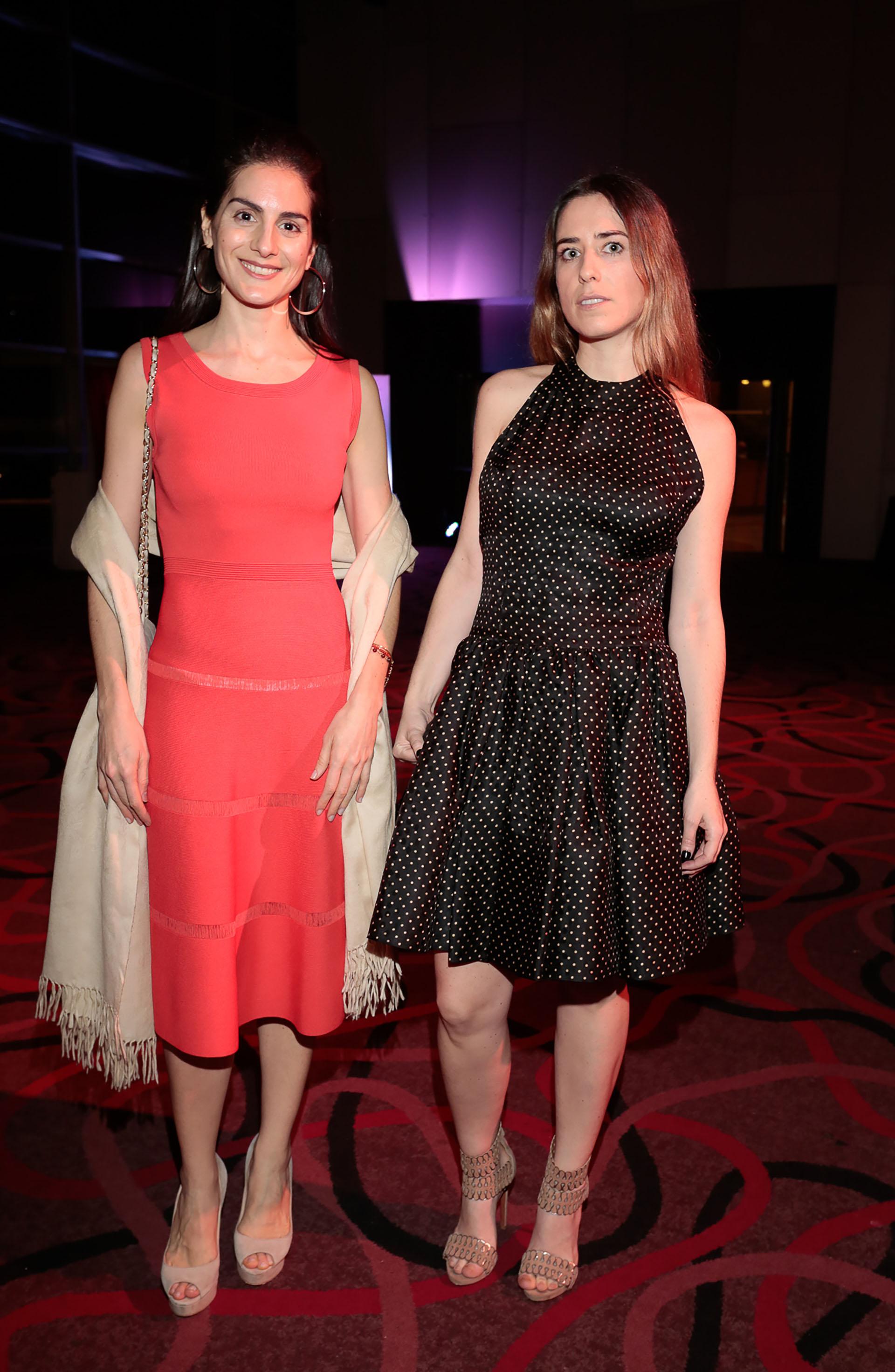 Sofía Pinto y Martina Brocca