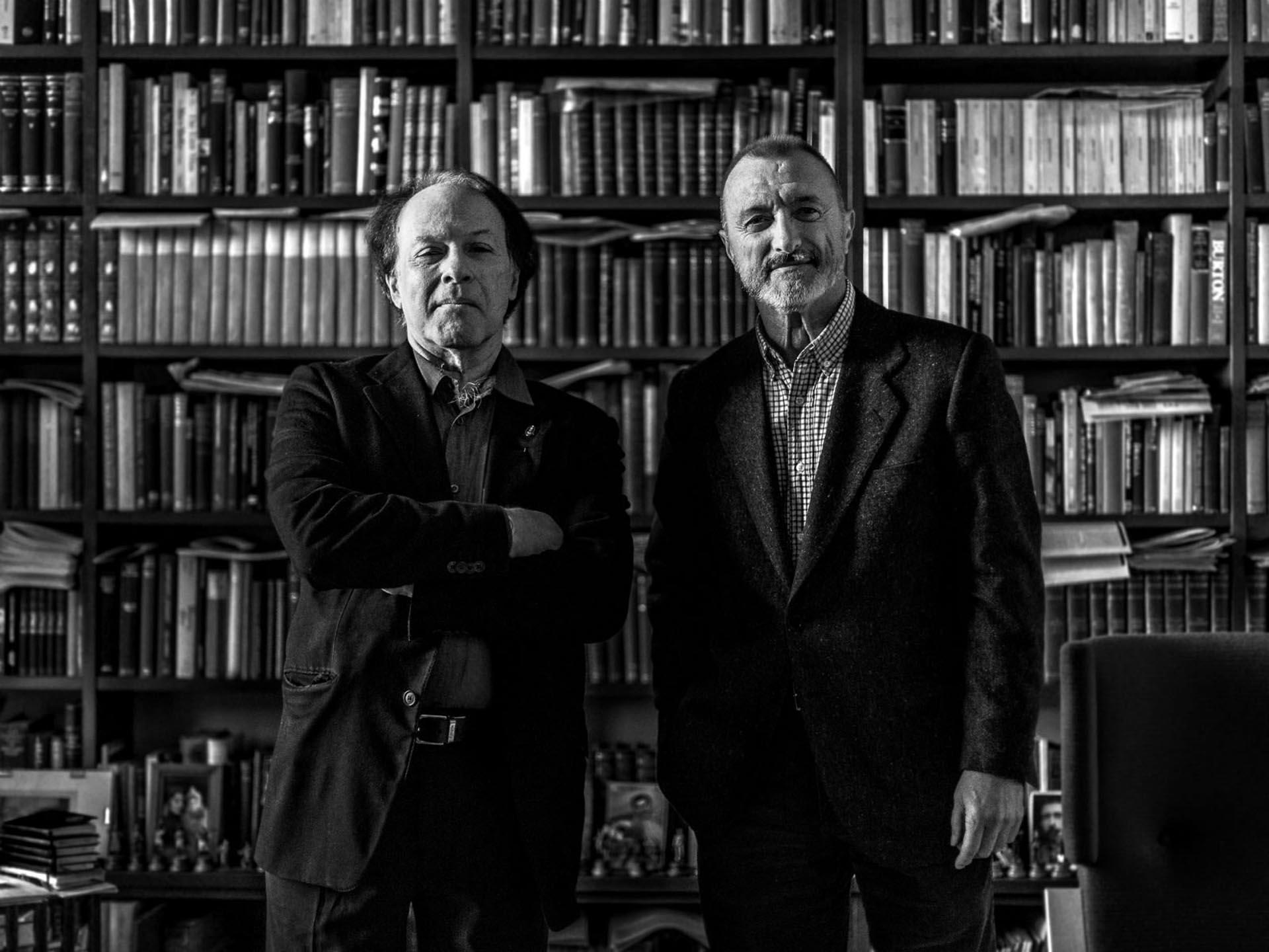 Arturo Pérez-Reverte y Javier Marías