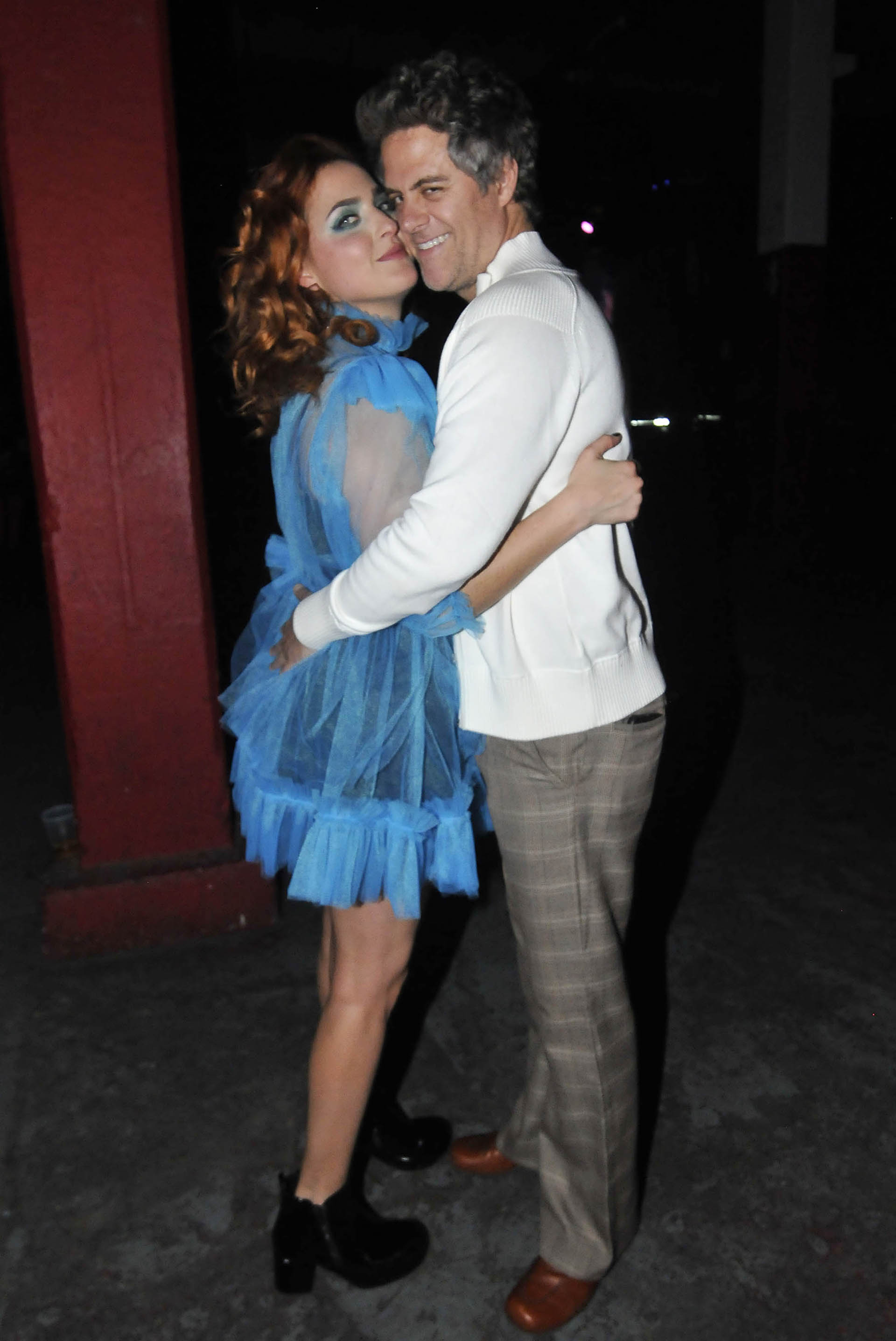 Mike Amigorena fue a ver el show de su novia, Sofía Vitola (Veronica Guerman)