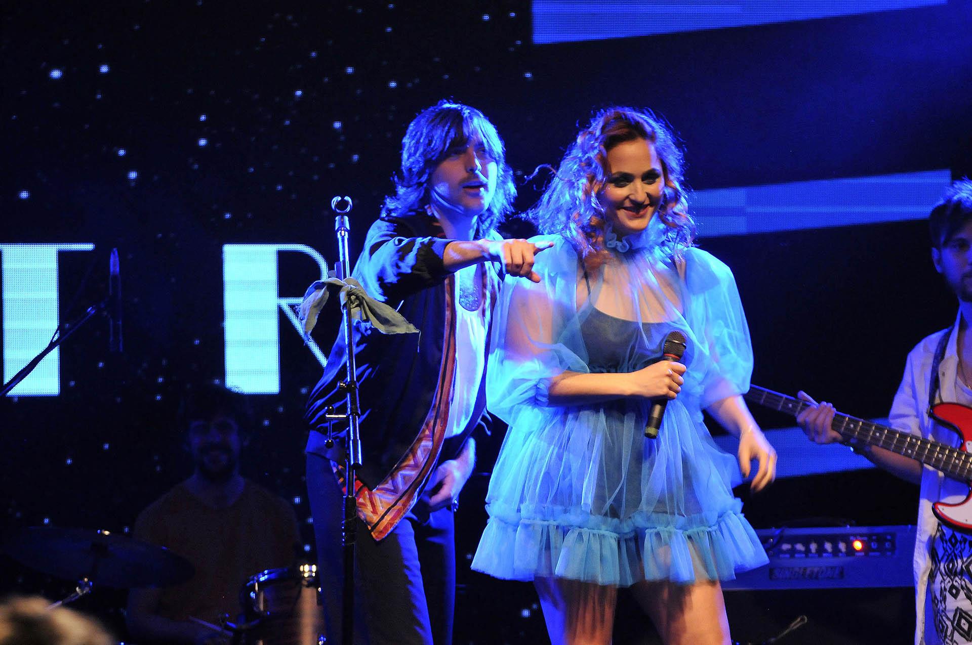 """El show se realizó en el Centro Cultural Konex en el marco del """"Festival ahora"""""""