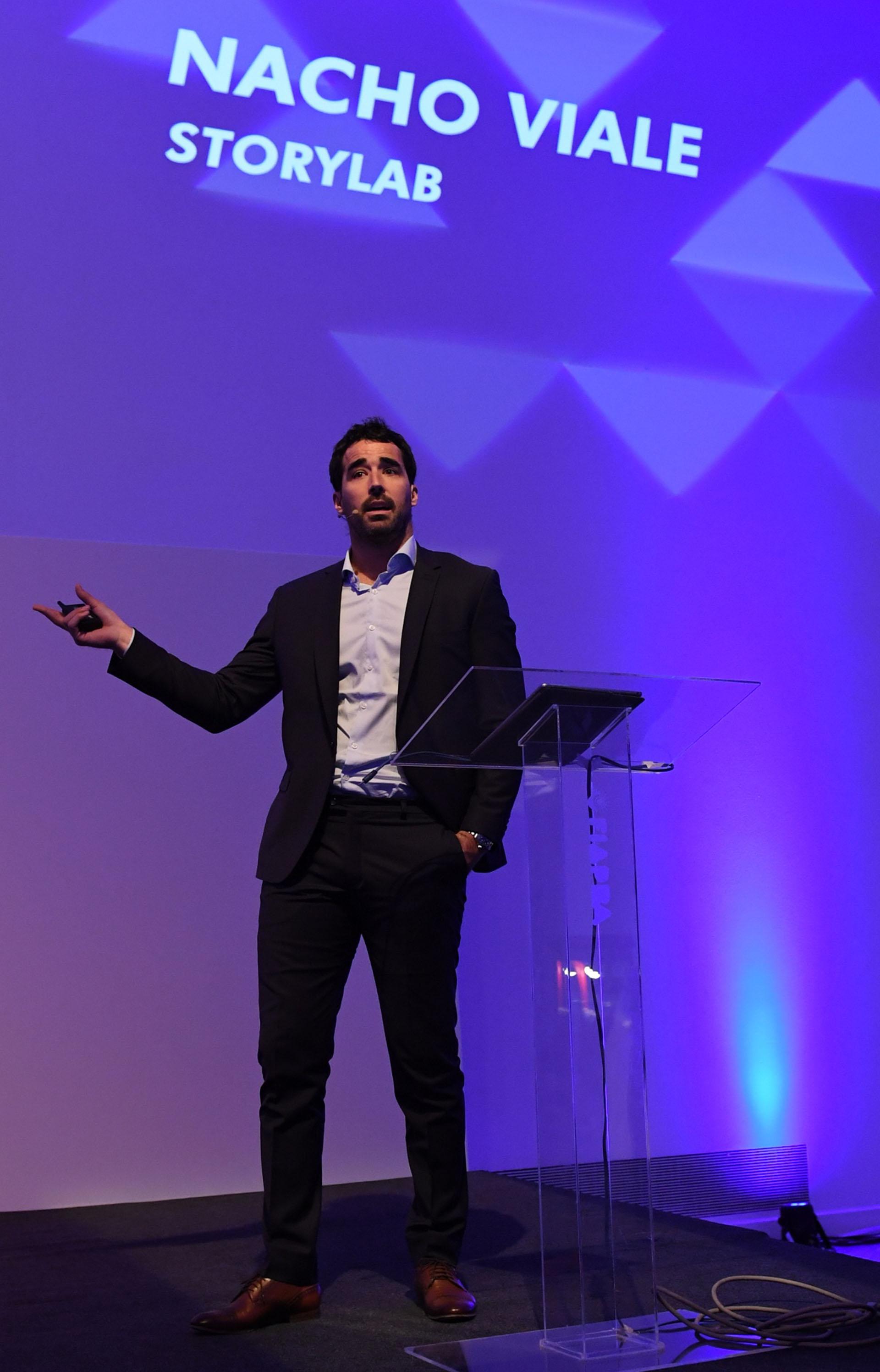 """""""La audiencia son aquellos que nos quieren y también los que nos odian, pero que nos consumen a través de otras plataformas"""", concluyó Nacho Viale"""