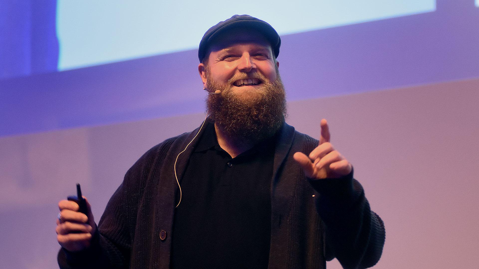 """""""Nuestra industria tiene una tendencia de correr detrás de todo lo que es 'cool'"""", criticó el cofundador de MediaMonks, Wesley Ter Haar, durante su charla """"Top Ten Techntonic Trends"""""""
