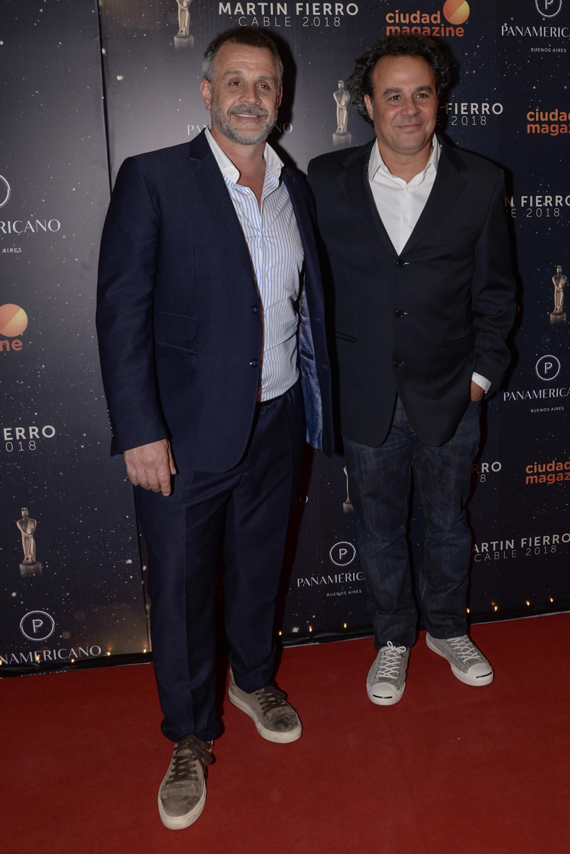 Christian y Roberto Petersen