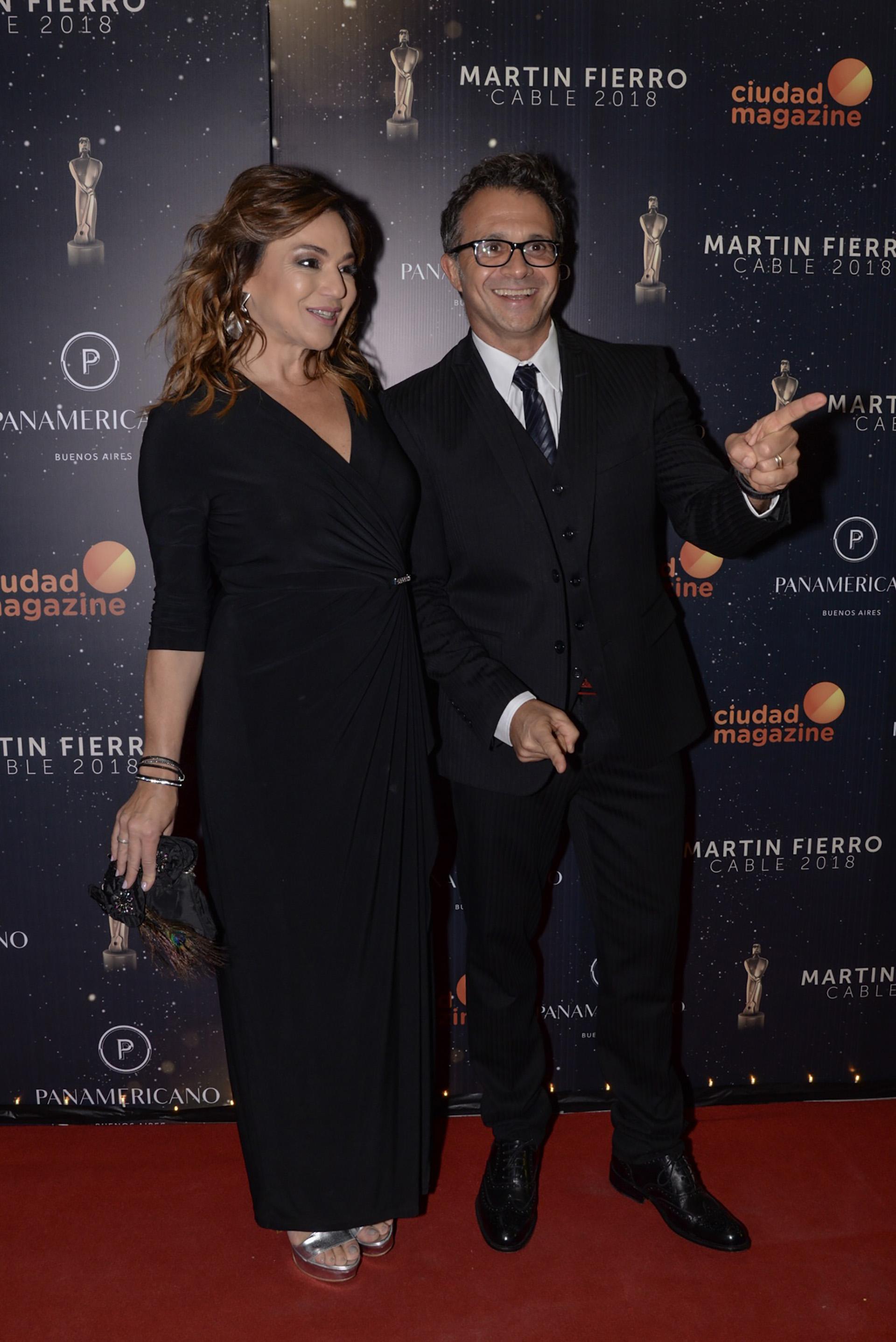 Sergio Lapegüe y Lorena Maciel