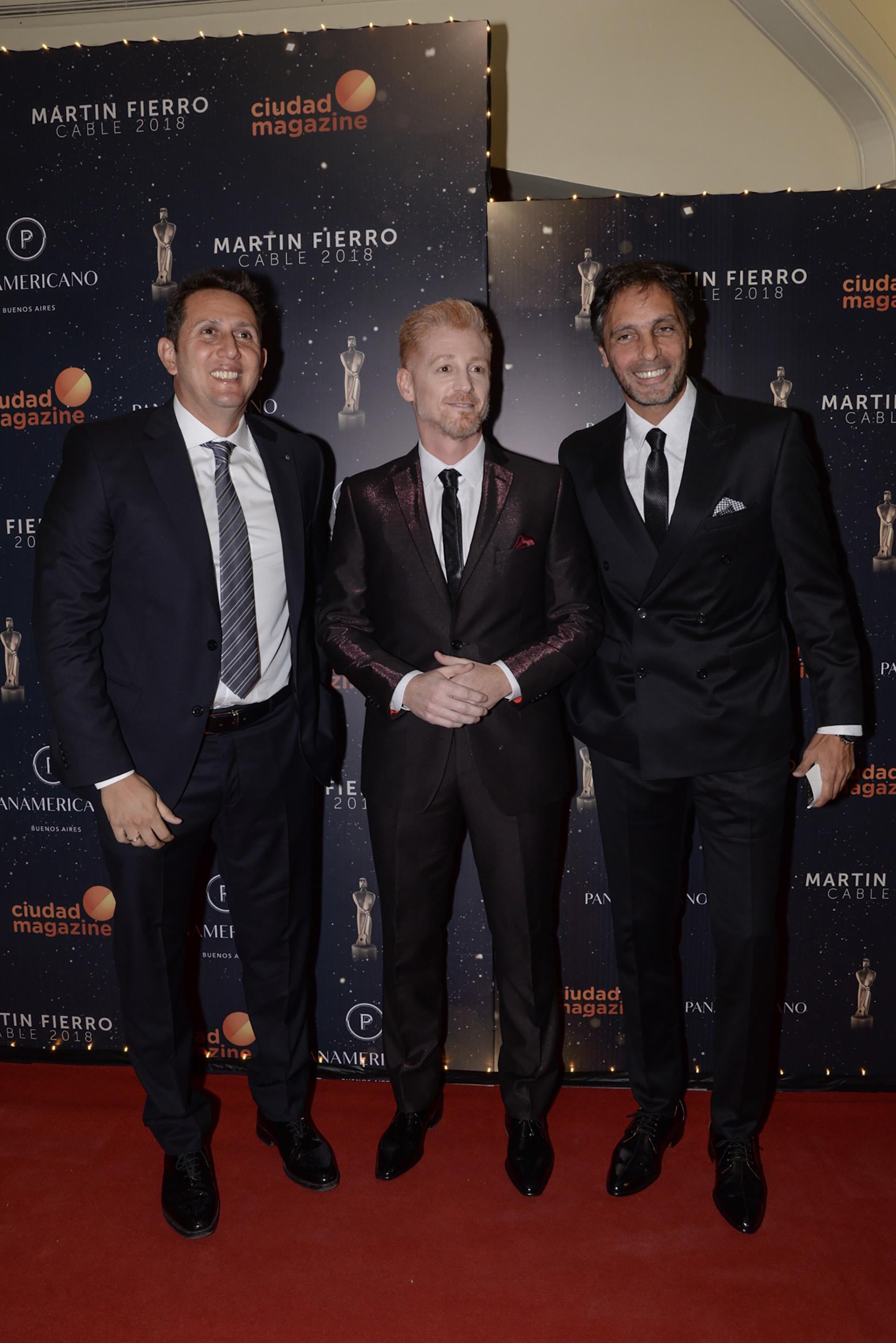 Juan Pablo Varsky, Martin Liberman, y Gustavo López (Julieta Ferrario)