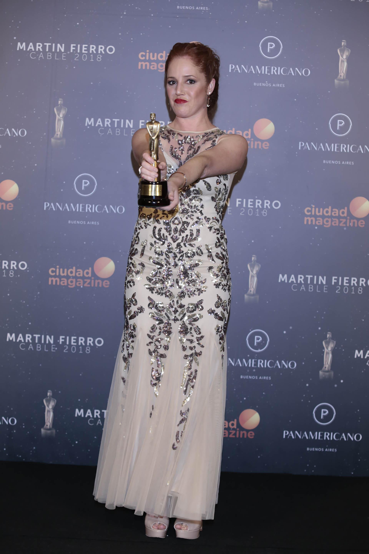 Resultado de imagen para premios martin fierro de cable caro ibarra