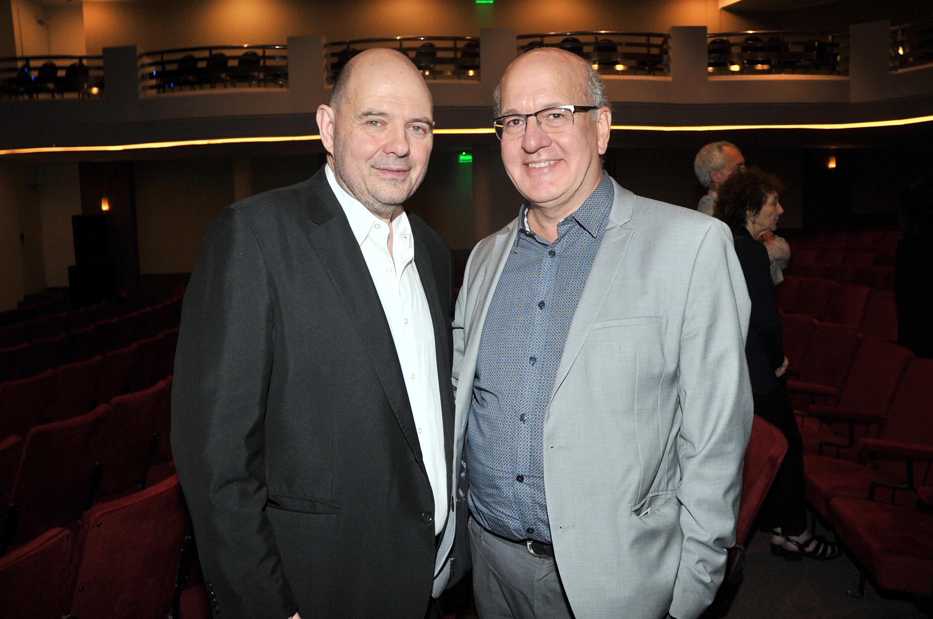 Carlos Rottemberg y Pablo Sirvén