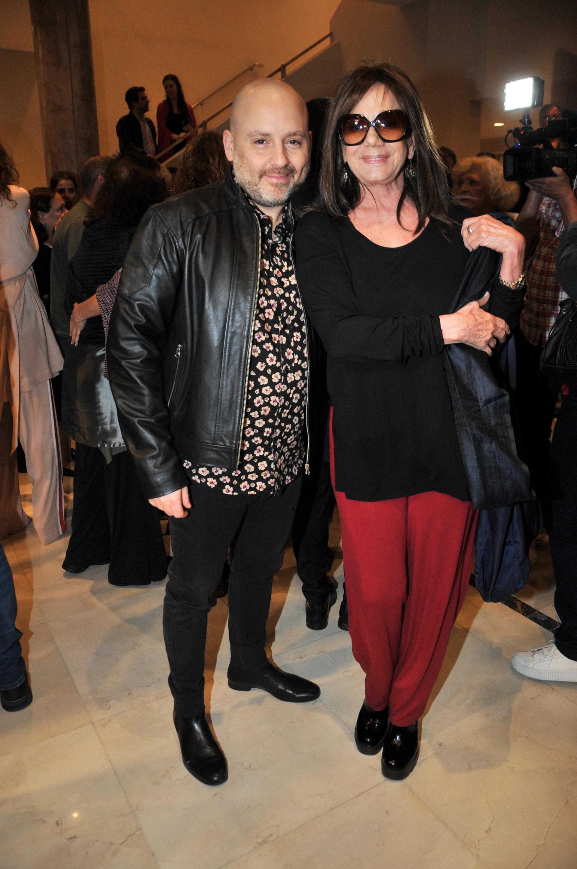 José María Muscari junto a Ana María Picchio