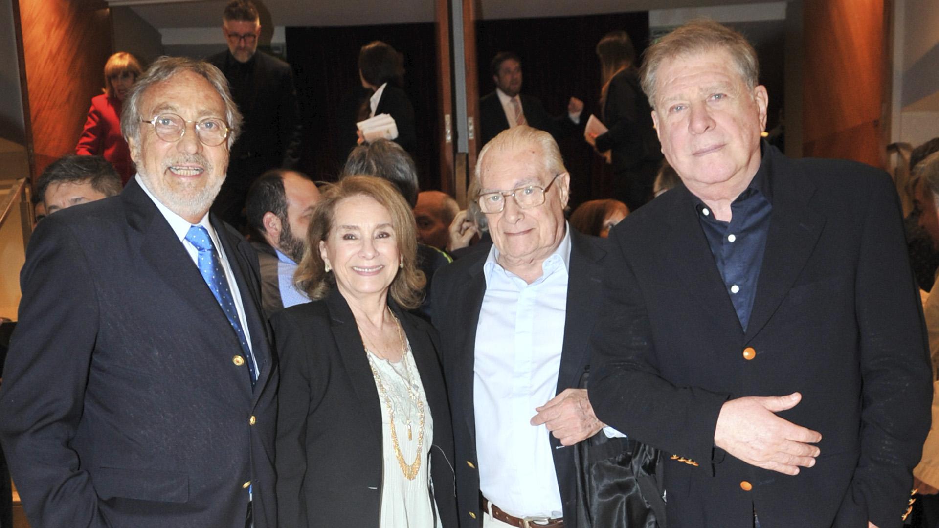 Luis Brandoni, Selva Alemán y Arturo Puig, también presentes (Teleshow)