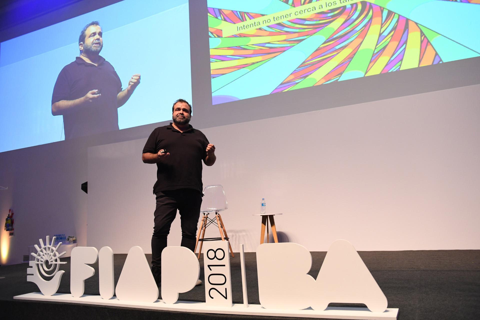 Gonzalo Figari, CIO de Dentsu X abrió el ciclo de conferencias de hoy martes 25 de septiembre.
