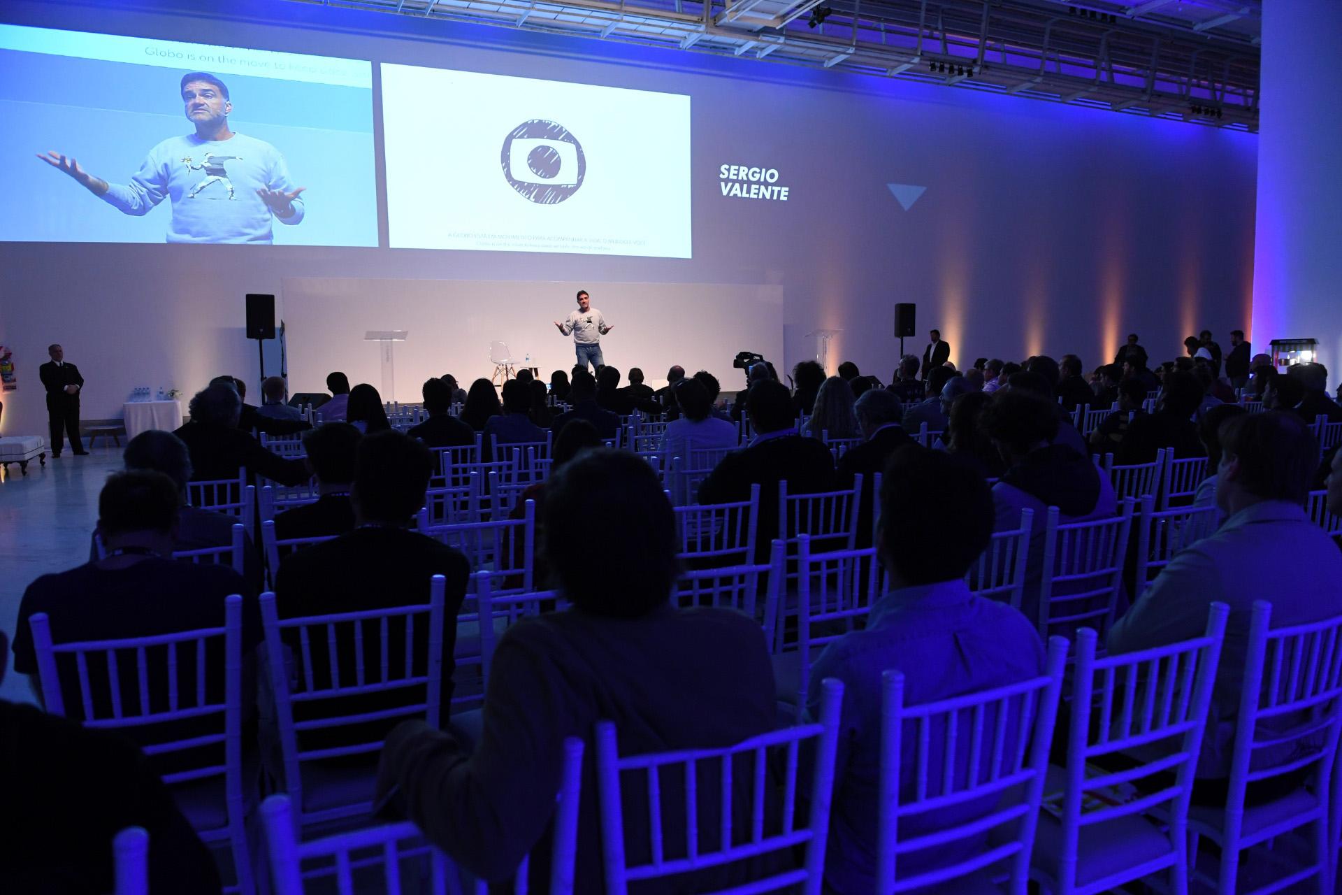Día dos del Festival Iberoamericano de la Publicidad. Sergio Valente, director de Comunicaciones de O Globo llegó al FIAP 2018 desde Brasil para dar cuenta del caso del multimedio brasileño más grande de su país