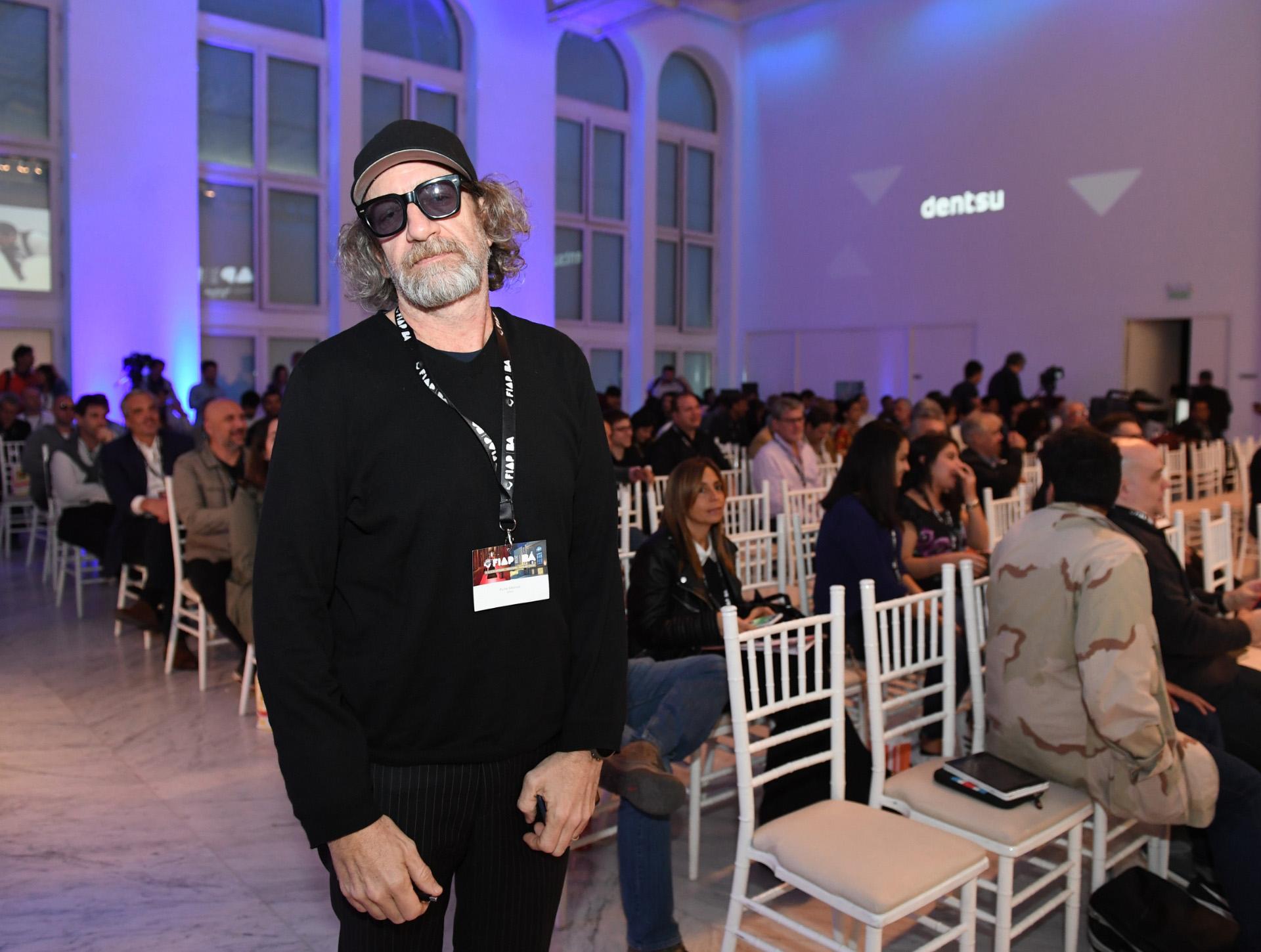 Pucho Mentasti reconocido publicista argentino y presidente del jurado FIAP en la categoría Producción