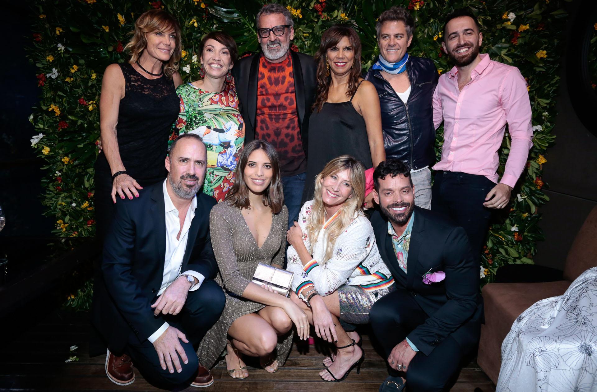 Los invitados famosos en el desfile de Benito Fernández /// Fotos: Christian Bochichio