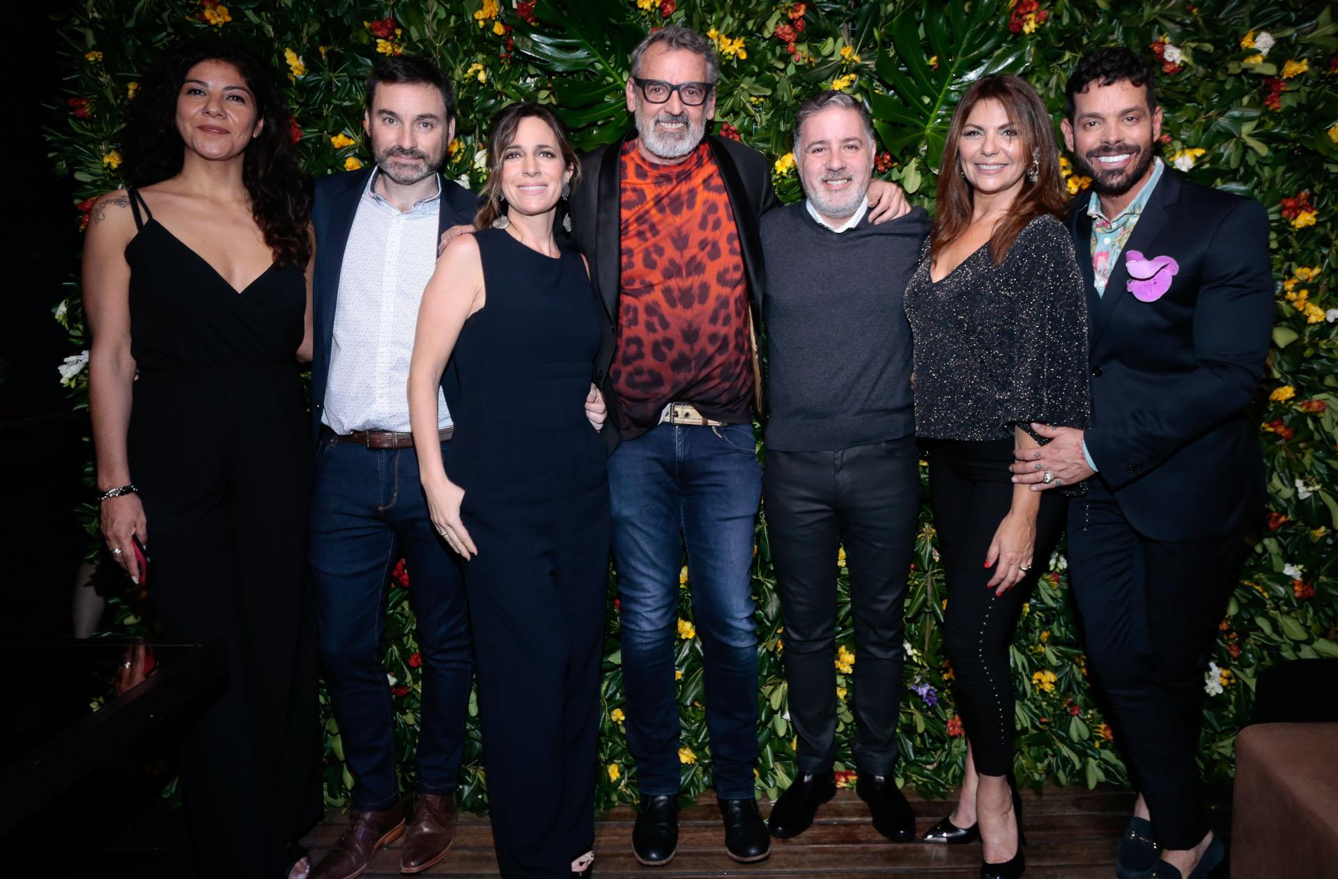 Fernanda Suárez, Ariel Wolman, Sandra Borghi, Benito Fernández, Fabián Doman, Mariel Di Lenarda y Mariano Caprarola