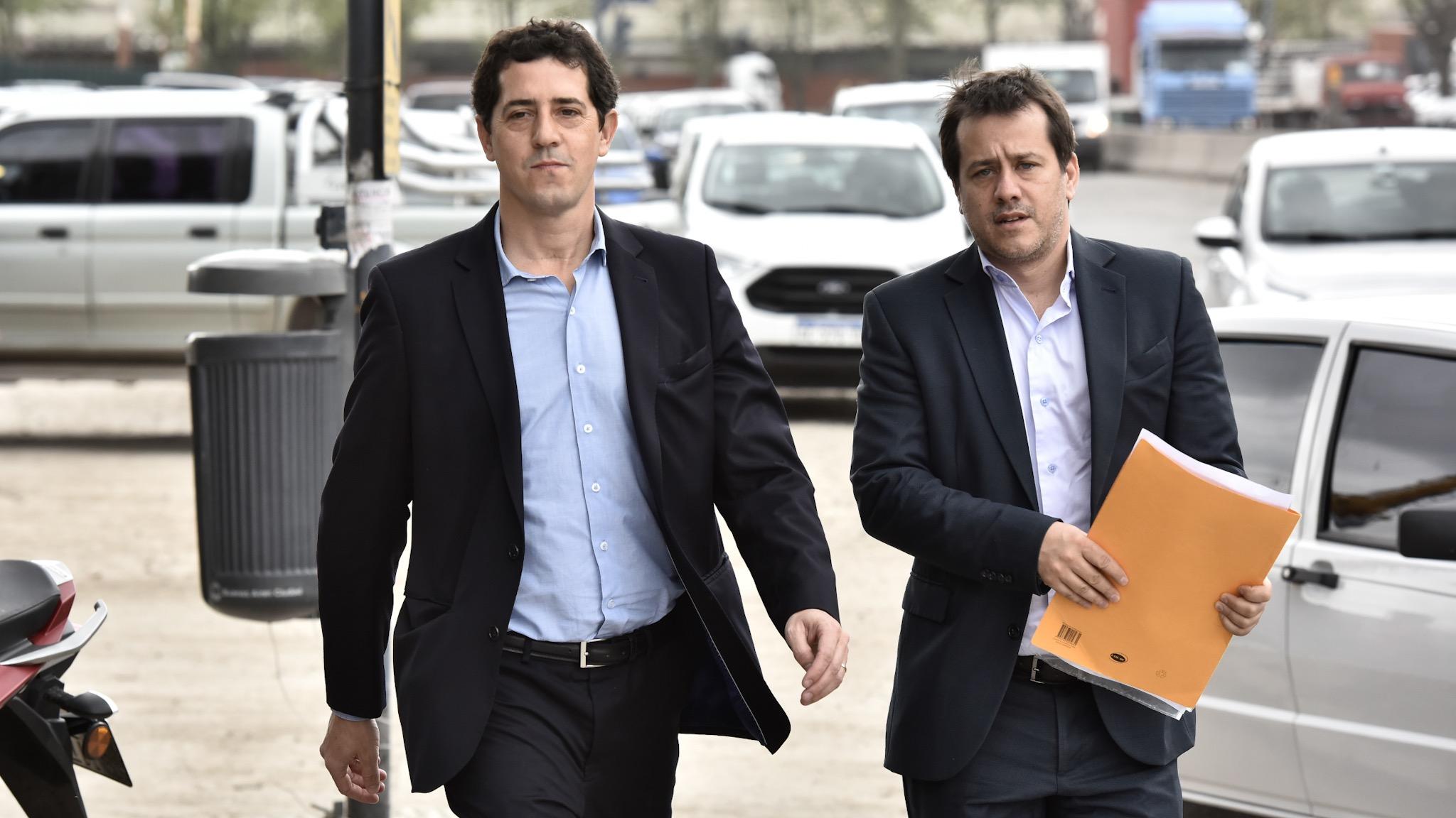 Eduardo Wado de Pedro se presentó en indagatoria ante el juez Bonadio. Fue asesorado por el abogado Mariano Recalde aunque en la causa está representado por otra letrada.