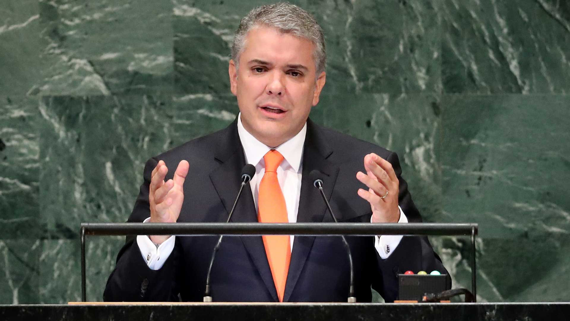 Iván Duque, presidente de Colombia (Reuters)