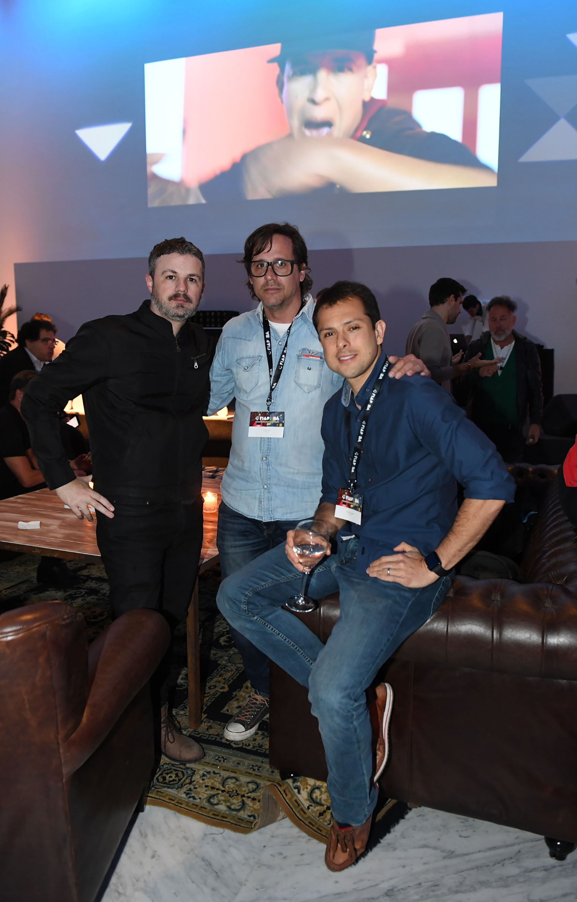 Christian Caldwell (Chief Creative Officer de McCaan), Diego Tuya (Executive Creative Director de Mercado McCann) y Rodrigo Raíces (Grey Group)
