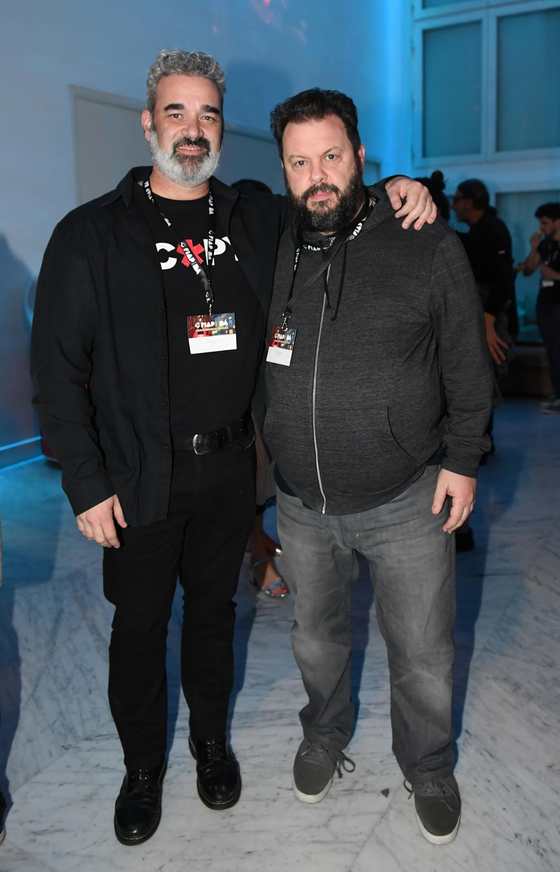 Mike Alfonseca (jurado de FIAP 2018) y Esteban Martucci (fundador y director de SelfContent)
