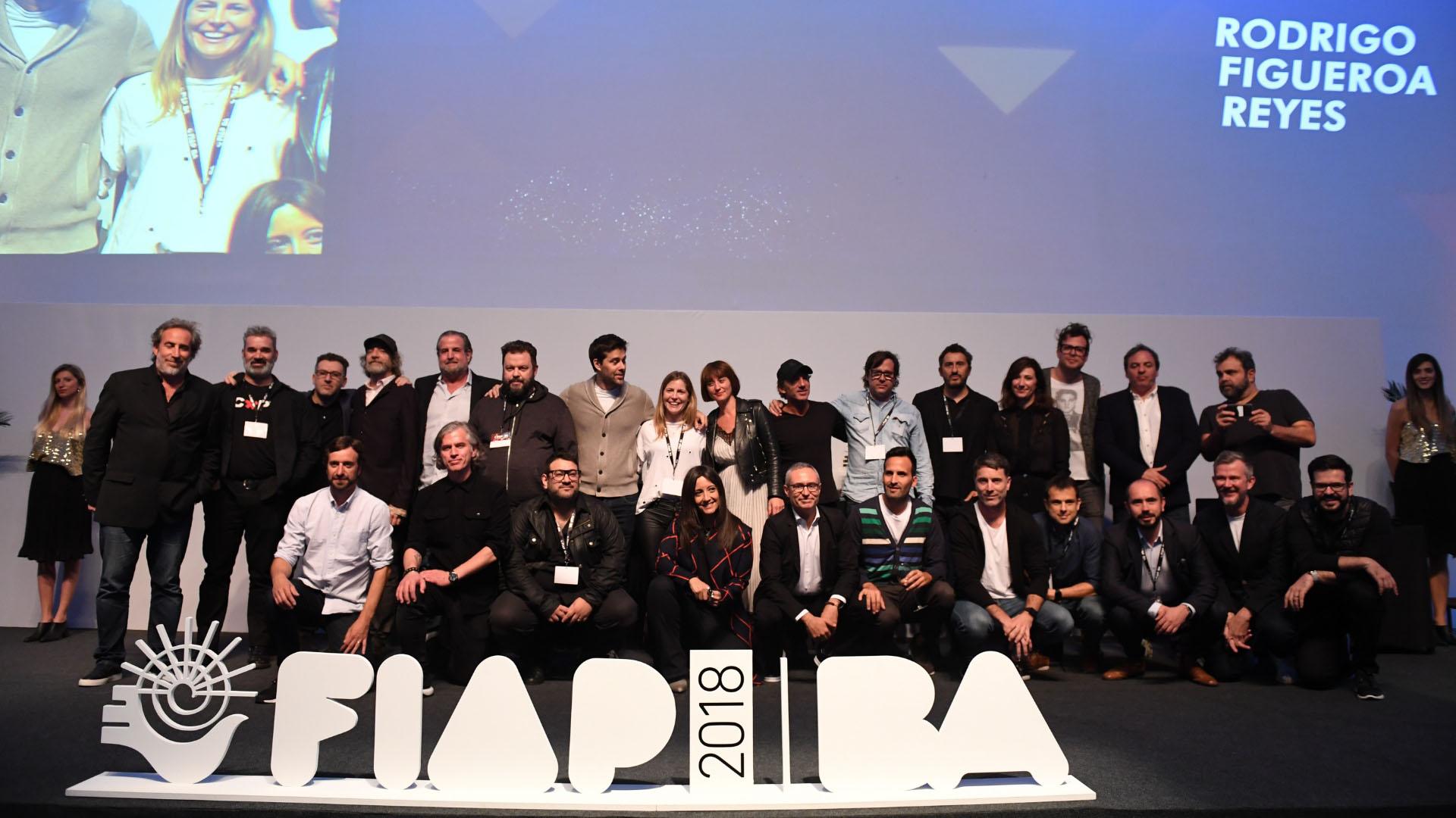 Los 40 jurados que integraron la elección de los premios FIAP 2018