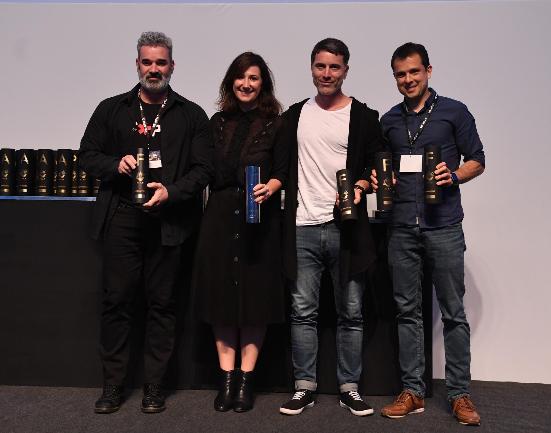 Queca Martinez, una de las grandes ganadoras de la noche de la entrega de premios FIAP 2018
