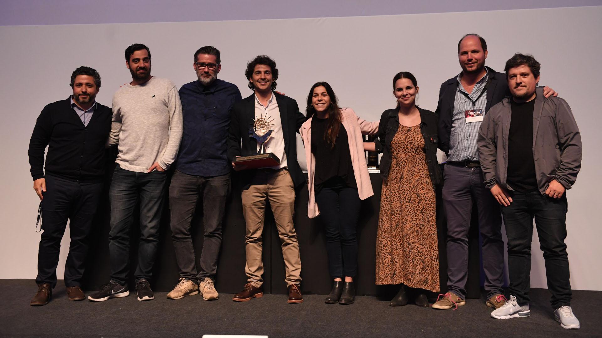 Ganadores del premio Grand Prix del FIAP 2018 en Buenos Aires