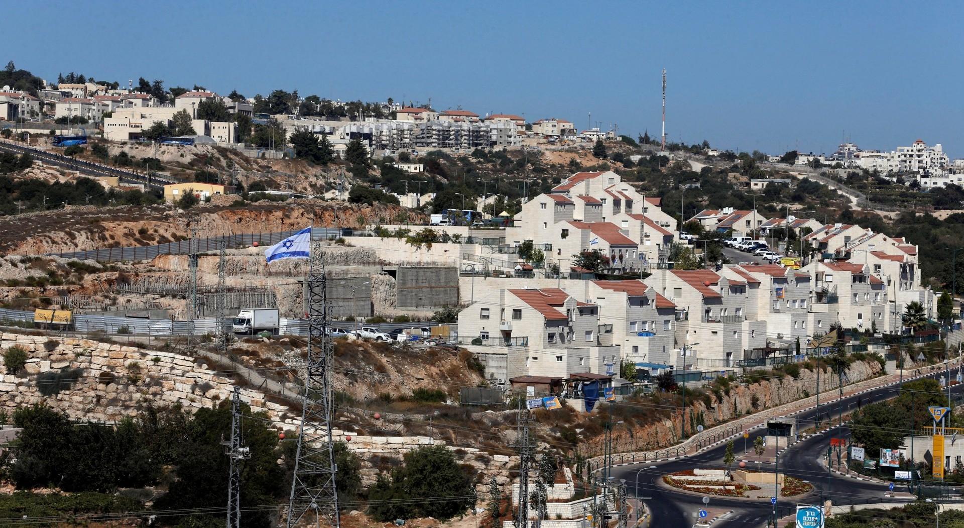 Vista panorámica de un asentamiento judío en Hebrón (Reuters)