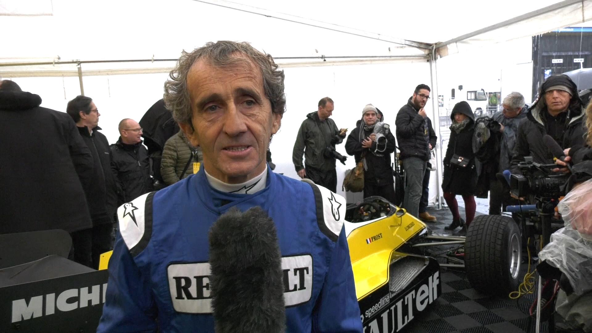Alain Prost se fue a Ferrari en 1990