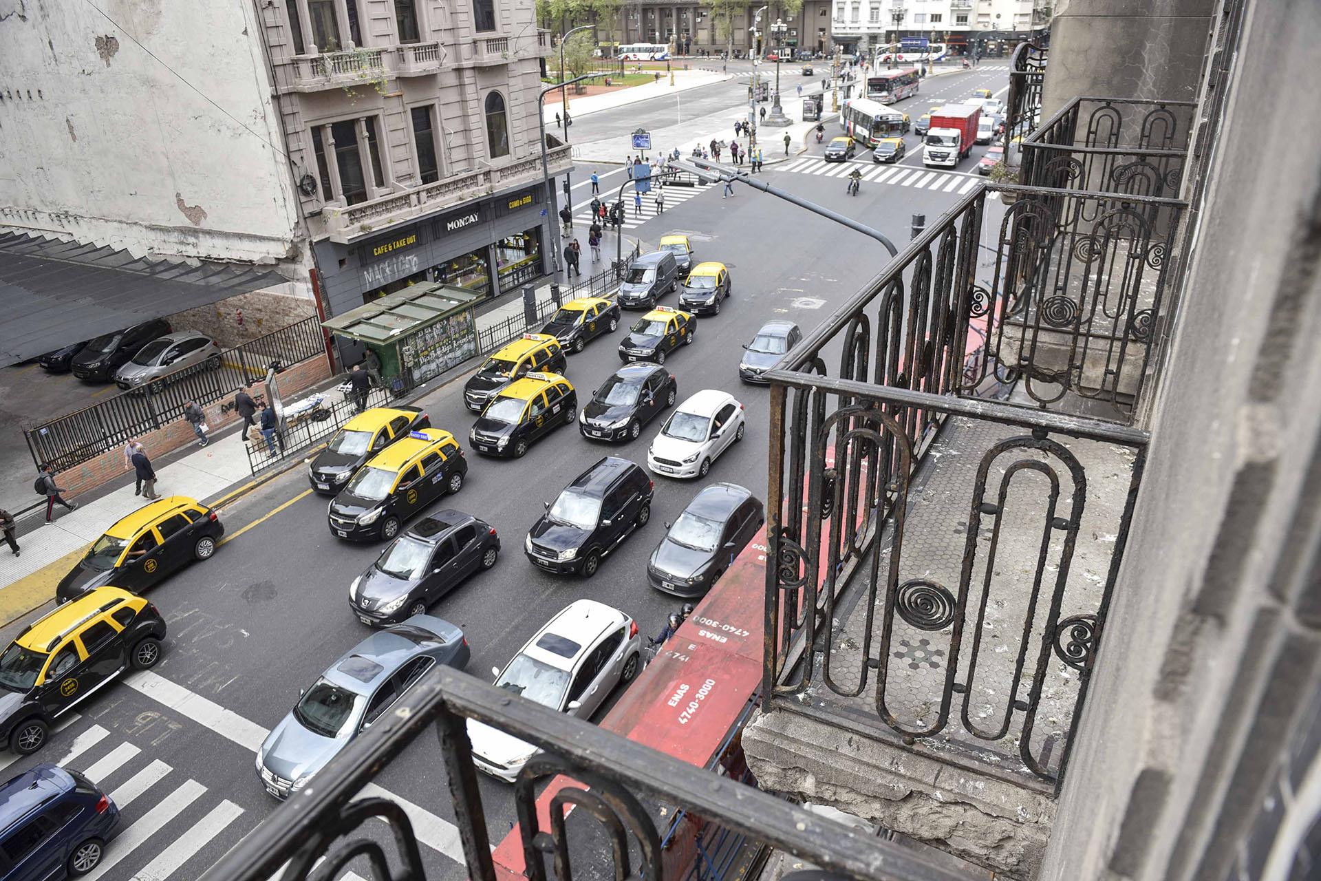 Desde los balcones superiores hay una vista privilegiada de la ciudad