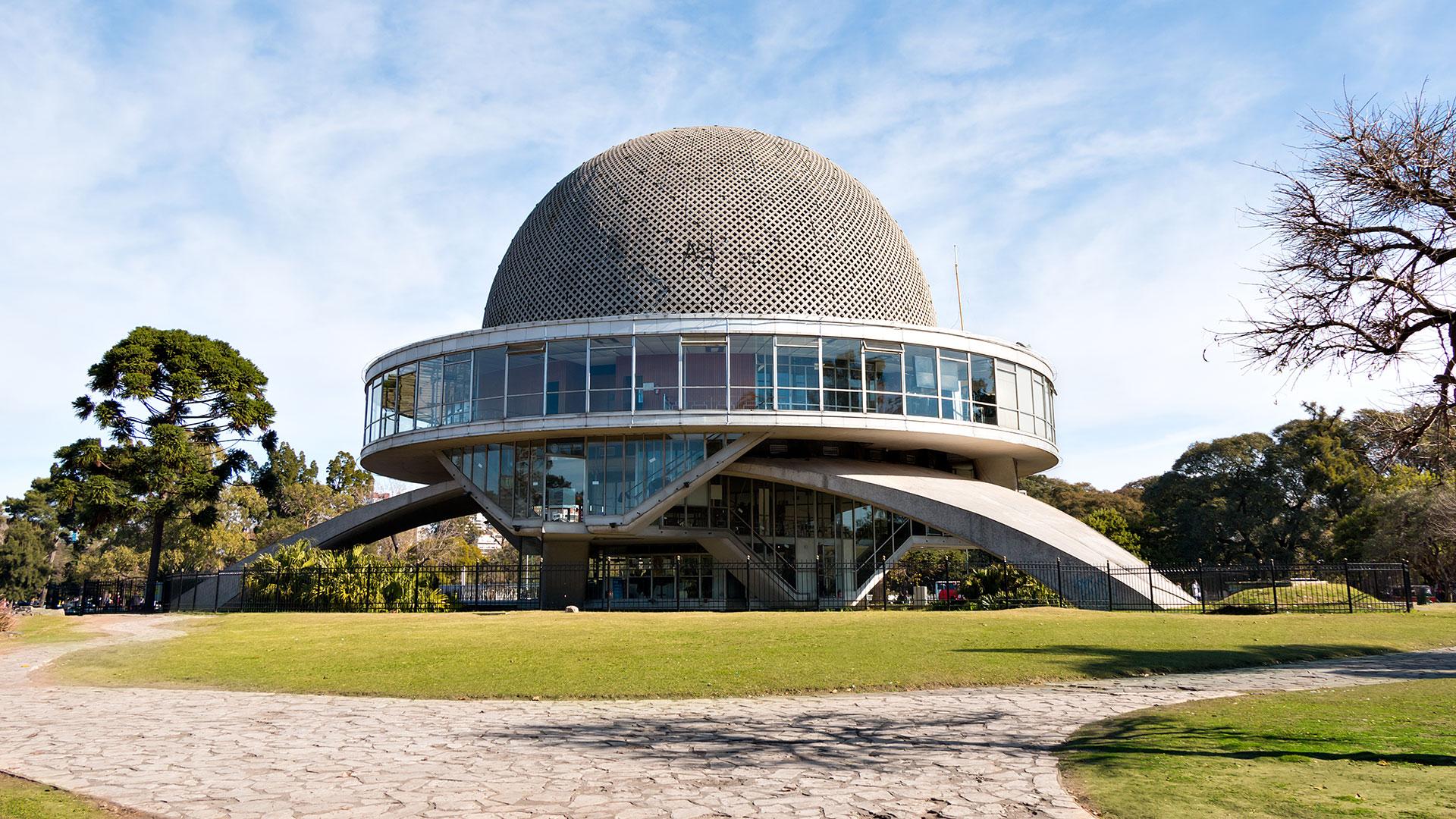 El Planetario de Buenos Aires abrió sus puertas para una vigilia muy especial (Getty)