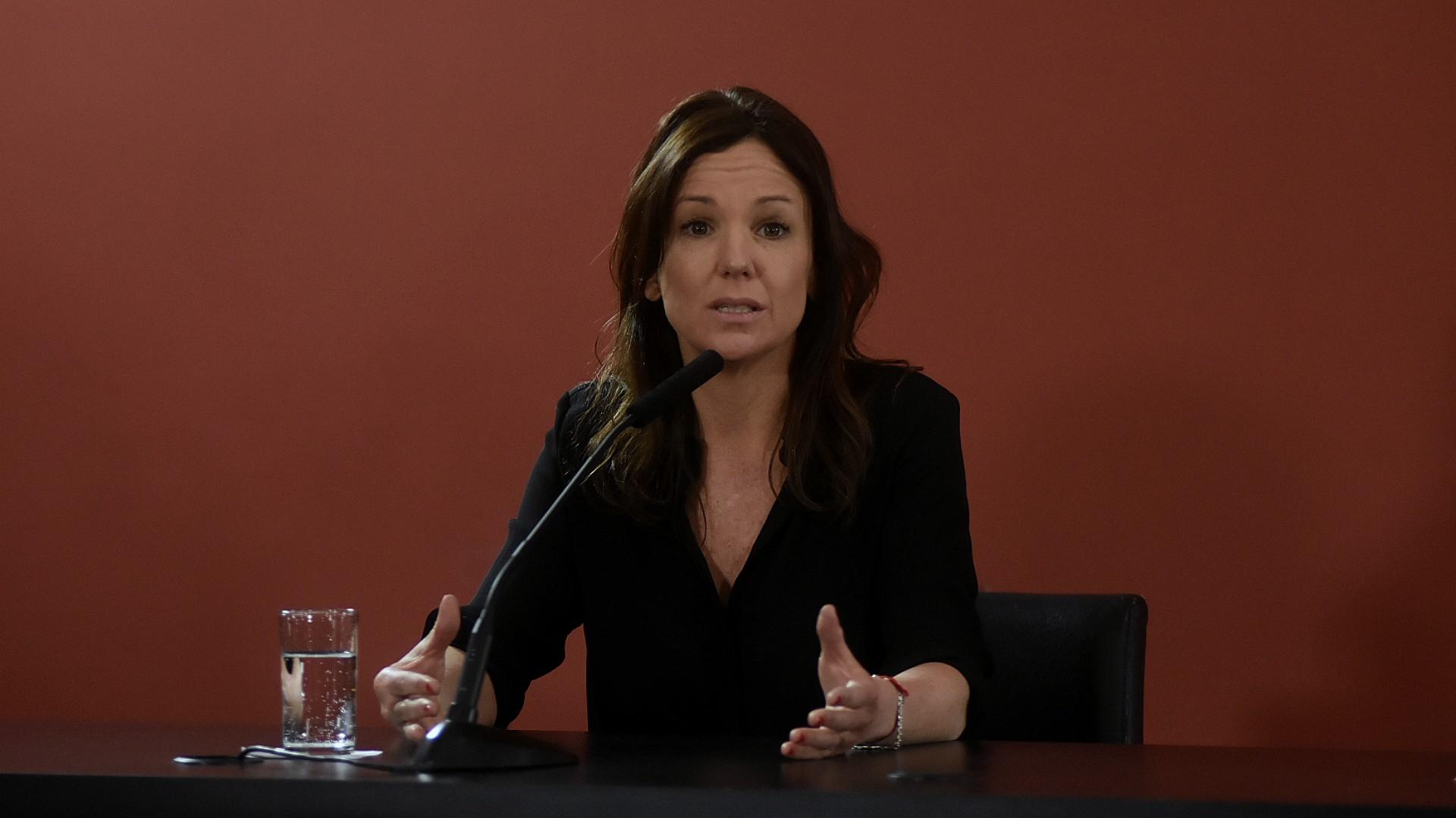 Carolina Stanley, ministra de Desarrollo Social. (foto de archivo: Nicolás Stulberg)