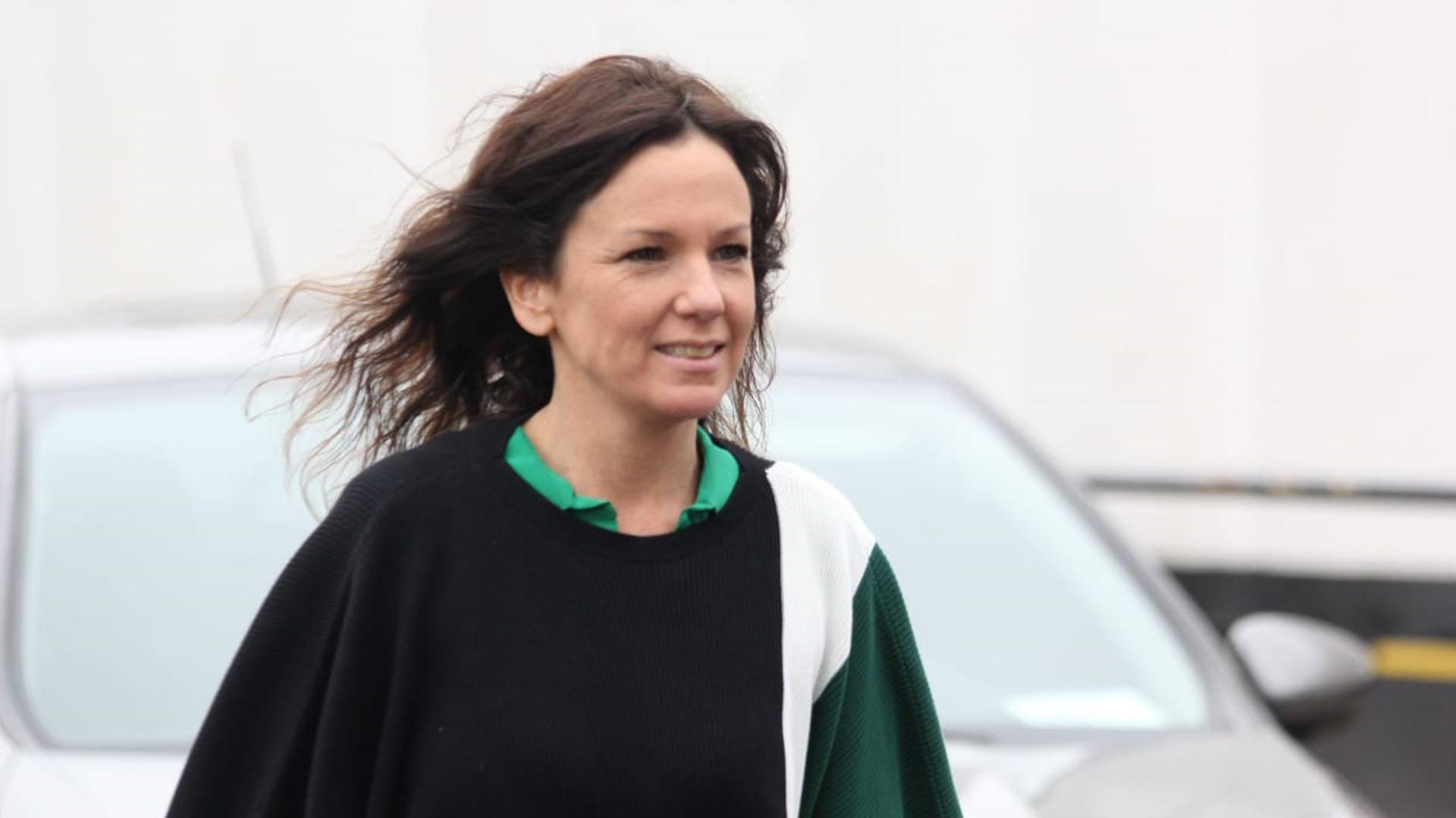 La ministra de Desarrollo Social Carolina Stanley (Matías Baglietto)