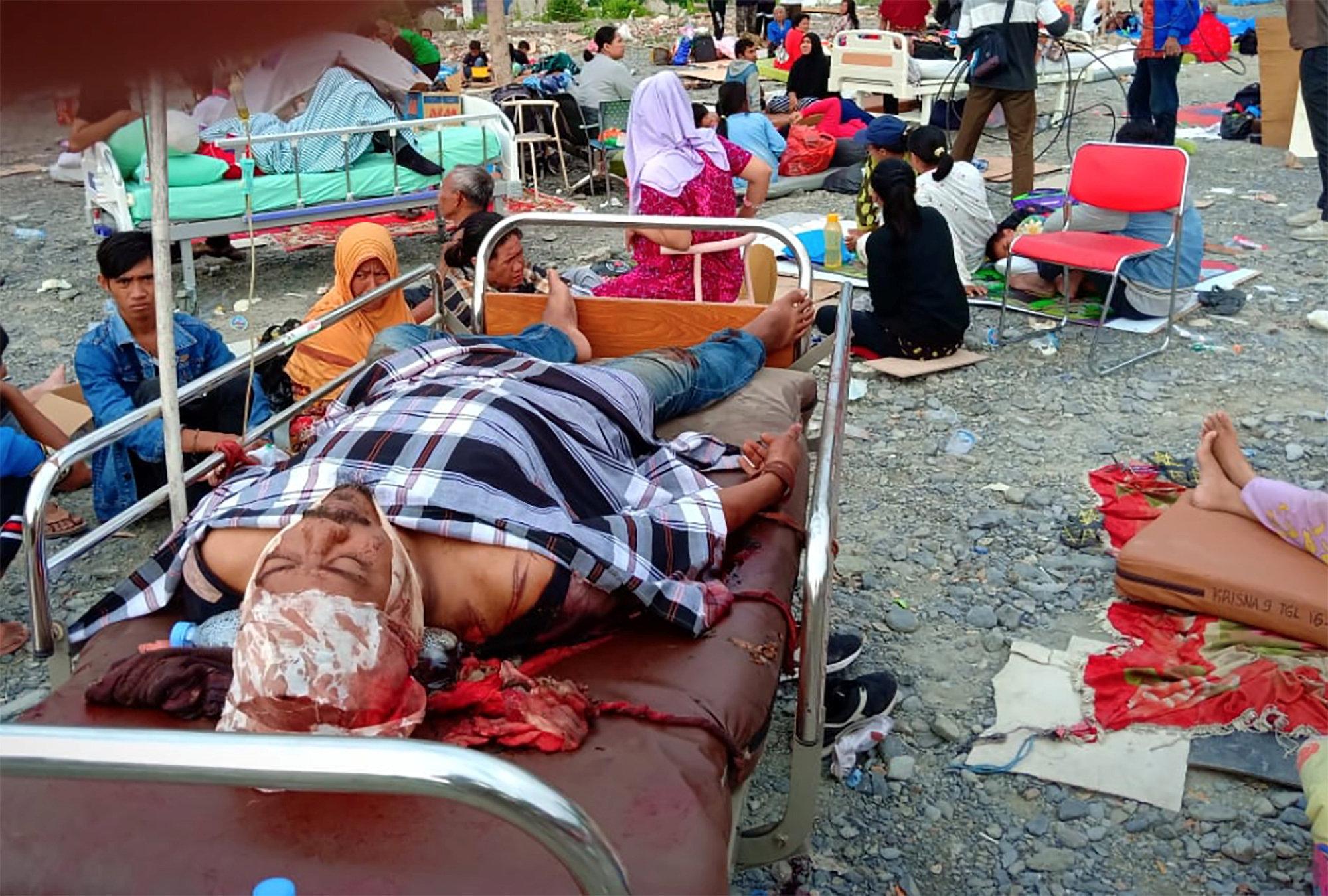 Cientos de personas resultaron heridas