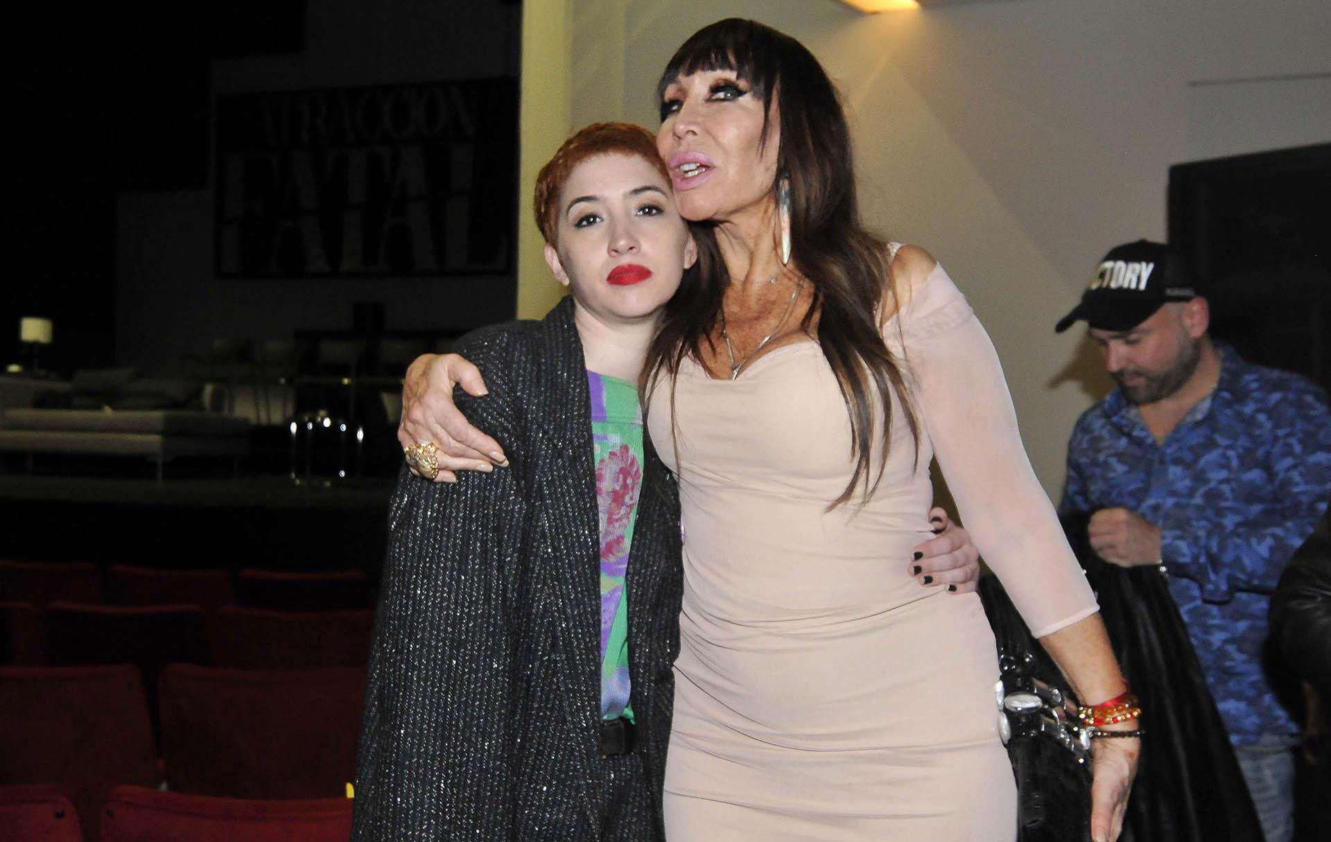 Sofía Gala Castiglione junto a su madre, Moria Casán